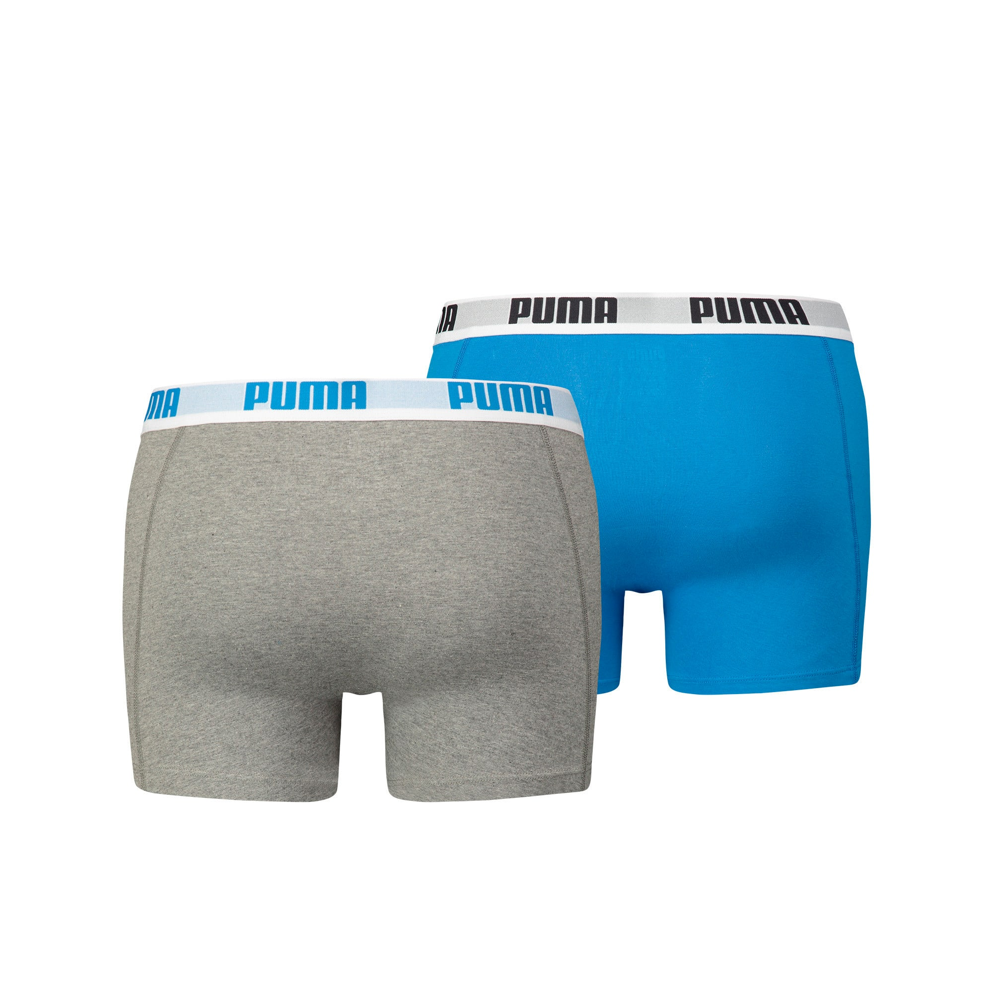 Thumbnail 5 of Basic Short Boxer  2 Pack, blue-grey, medium