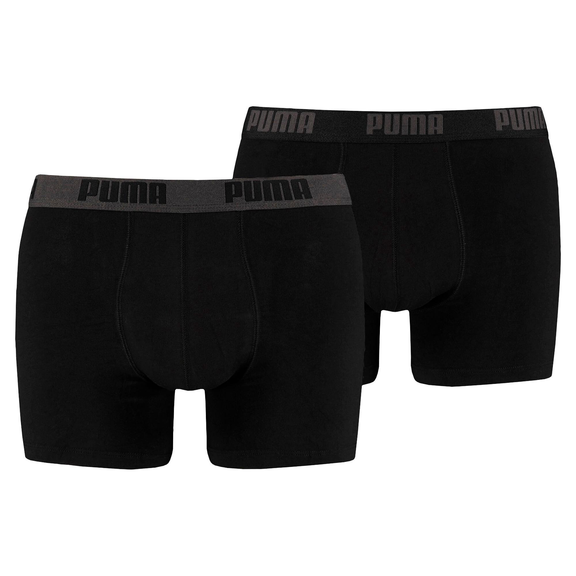 Thumbnail 1 of Basic Short Boxer  2 Pack, black / black, medium
