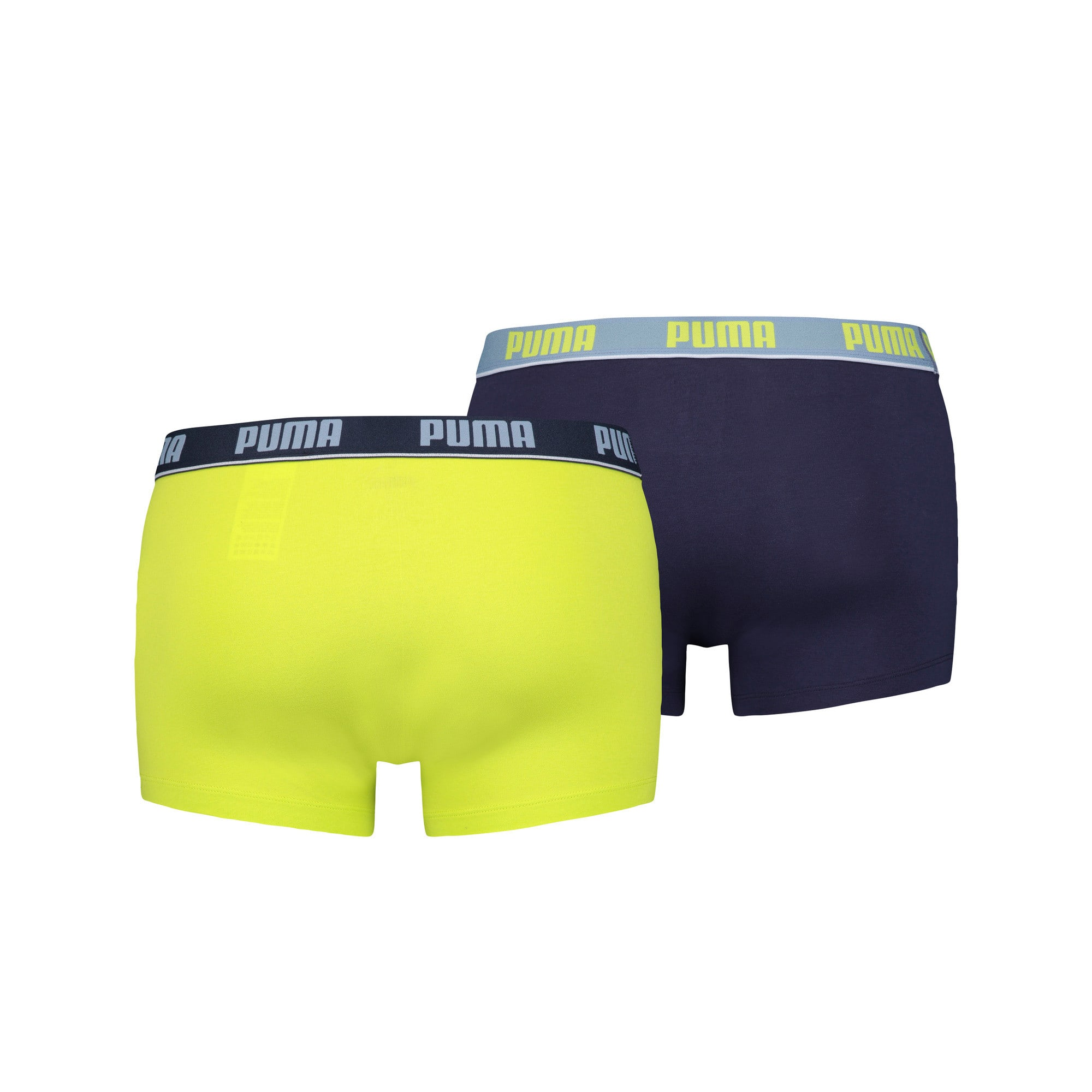 Thumbnail 6 van 2 basic boxershorts, blue / lime, medium