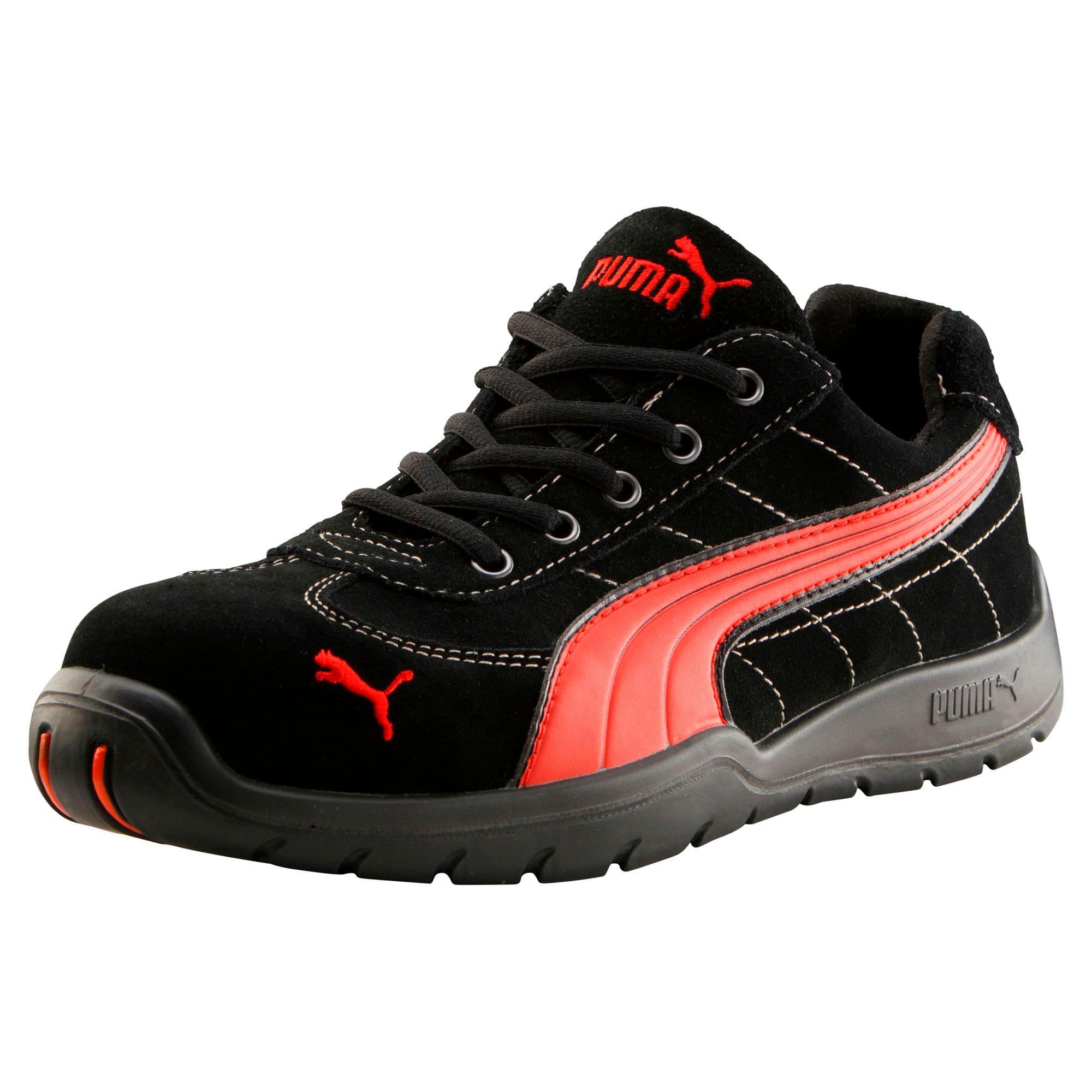 Thumbnail 1 van S1P HRO Moto Protect Safety Shoes, zwart-rood, medium