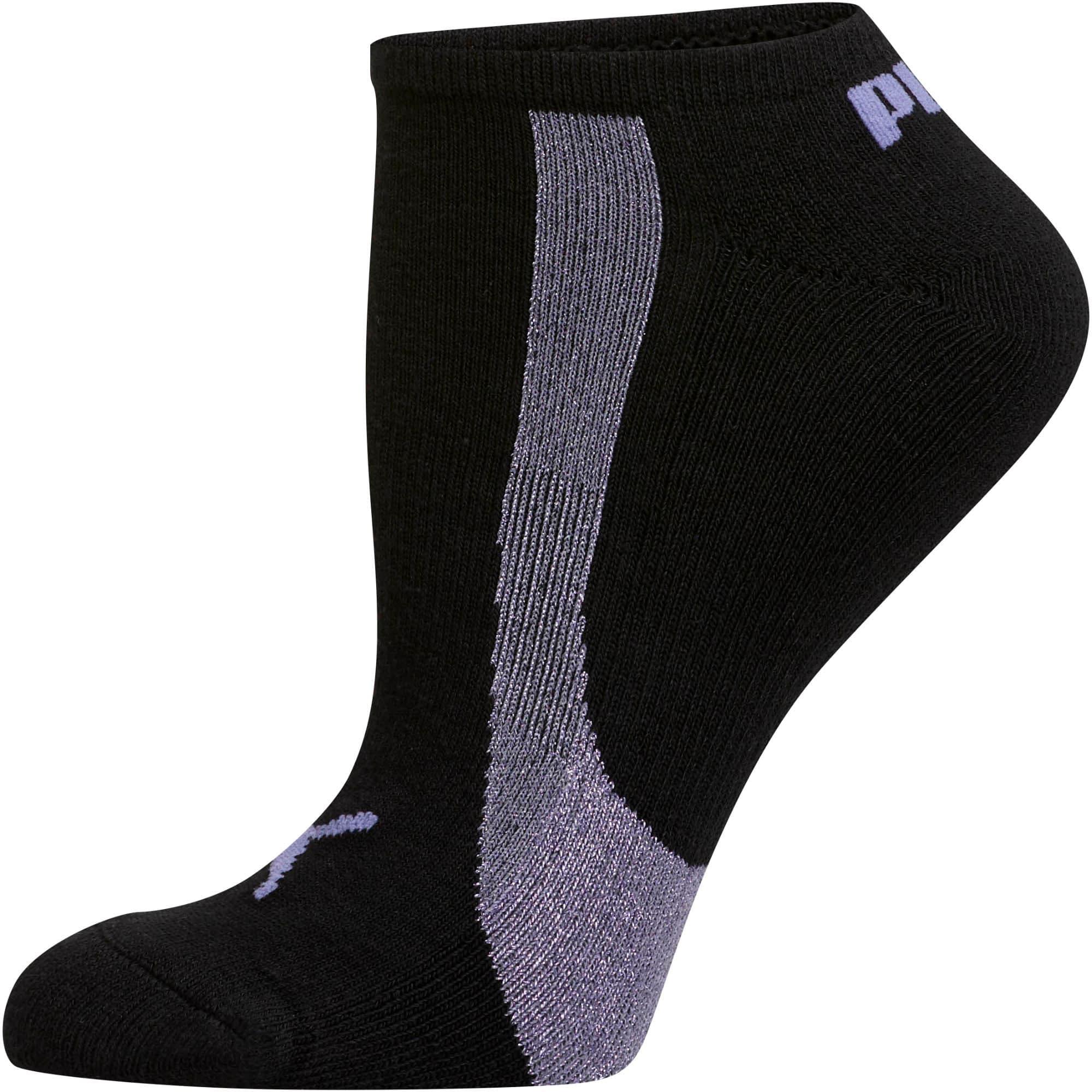 Thumbnail 2 of Women's No Show Socks [3 Pack], LT PASTEL PURPLE, medium