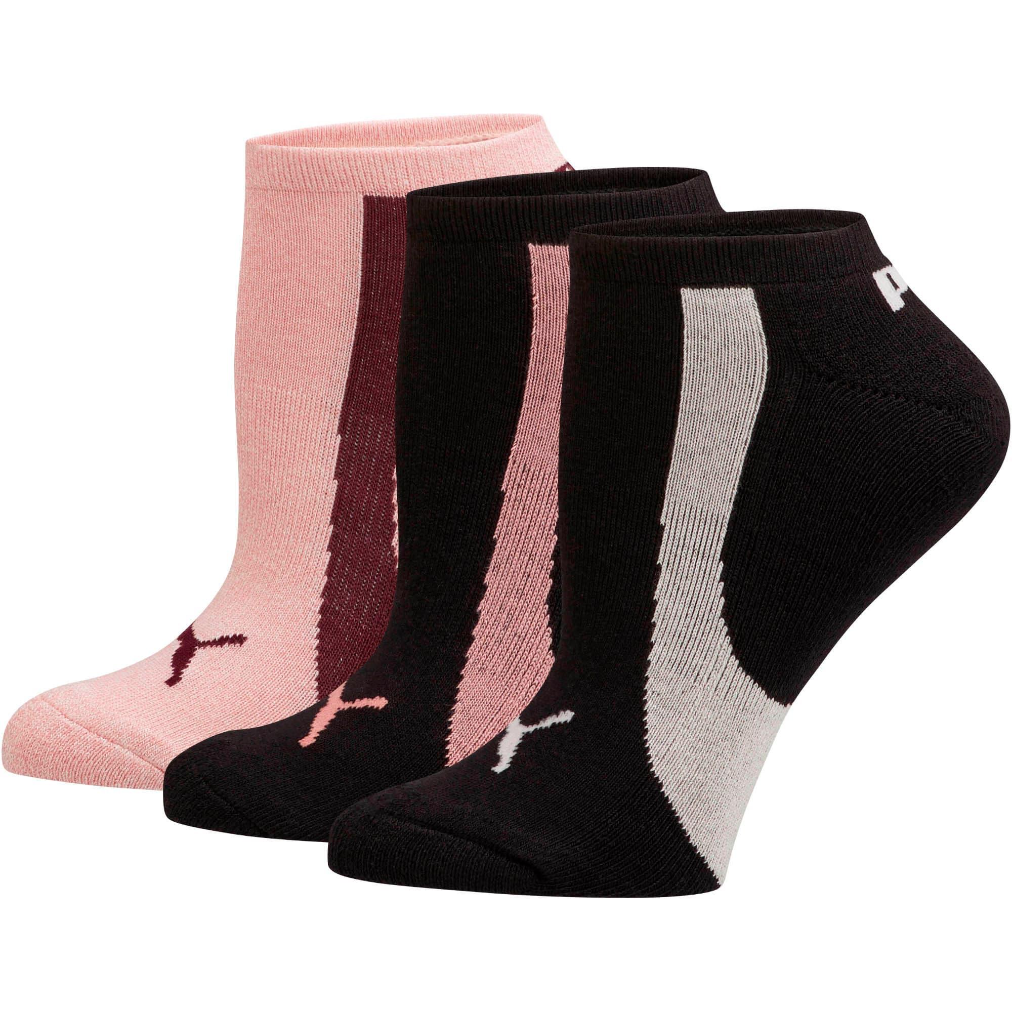 Thumbnail 1 of Women's No Show Socks [3 Pack], PSTL COMBO, medium