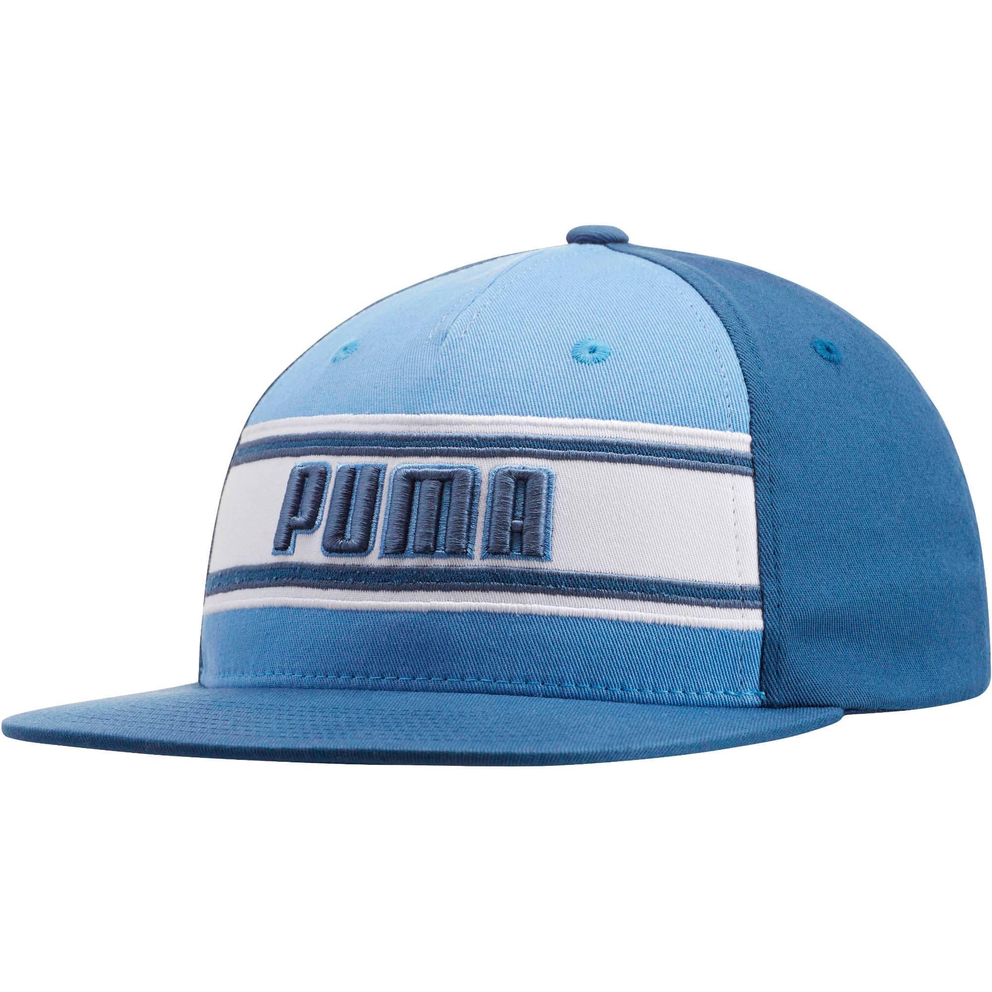 Thumbnail 1 of STAGE DIVE FLATBILL FLEXFIT Hat, BLUE, medium