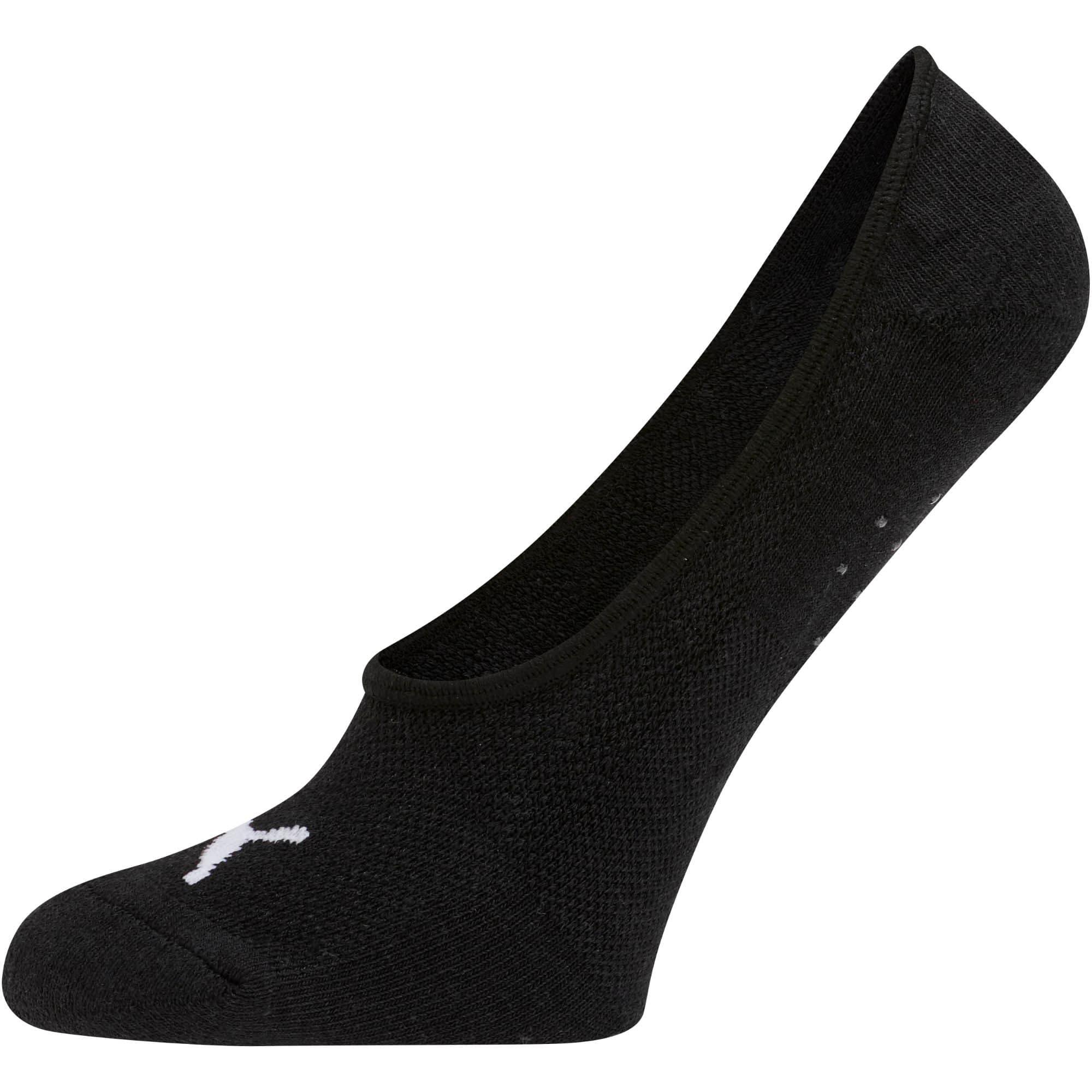 Thumbnail 2 of Women's Select Terry Liner Socks [3 Pack], BLACK / WHITE, medium