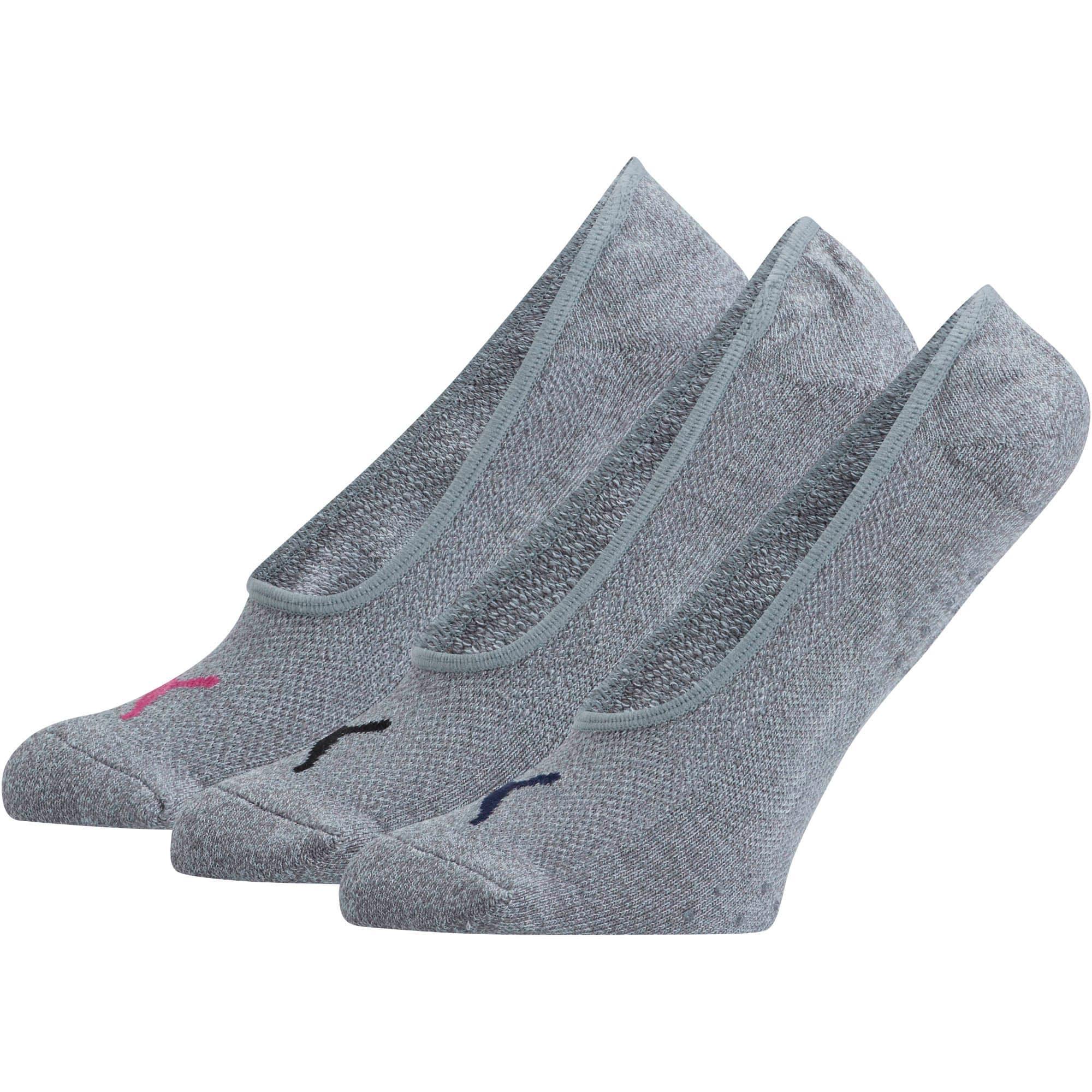 Thumbnail 1 of Women's Select Terry Liner Socks [3 Pack], MEDIUM GREY, medium