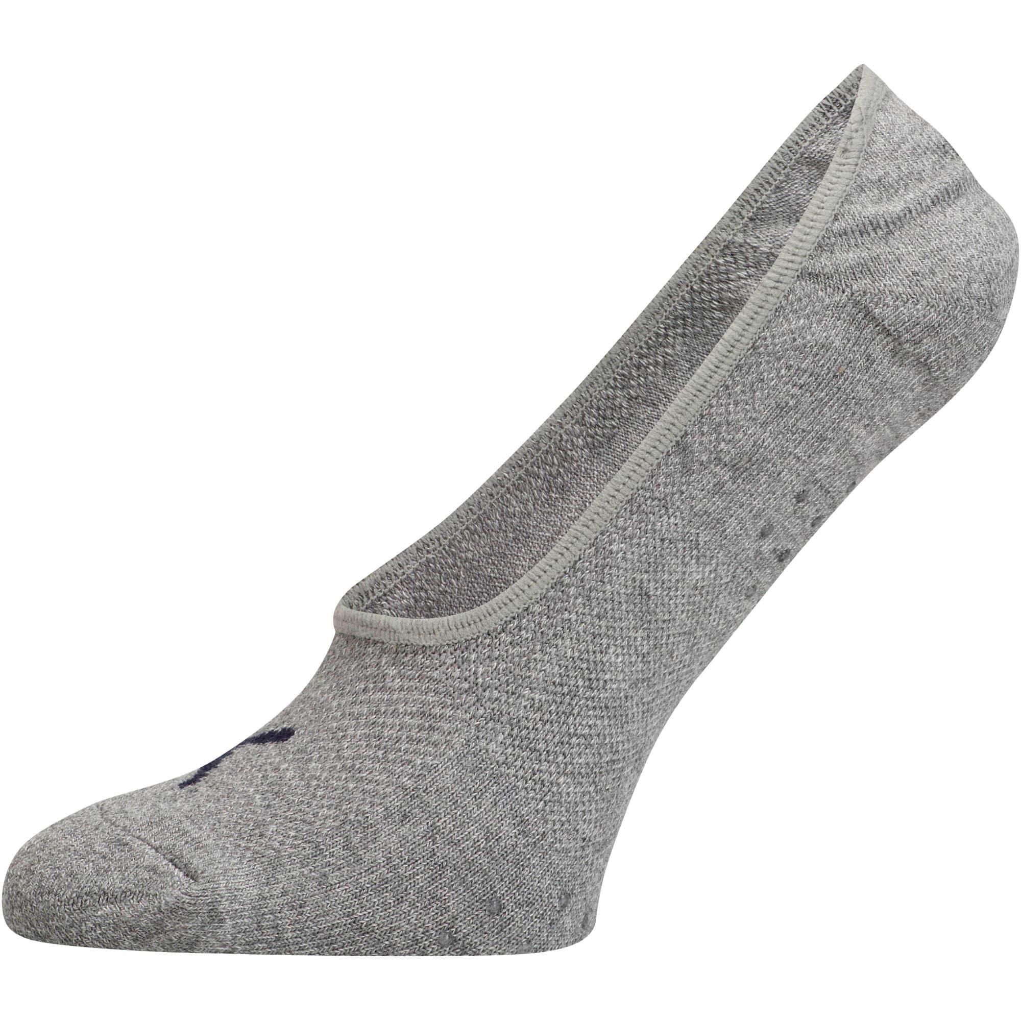 Thumbnail 2 of Women's Select Terry Liner Socks [3 Pack], GREY / PINK, medium