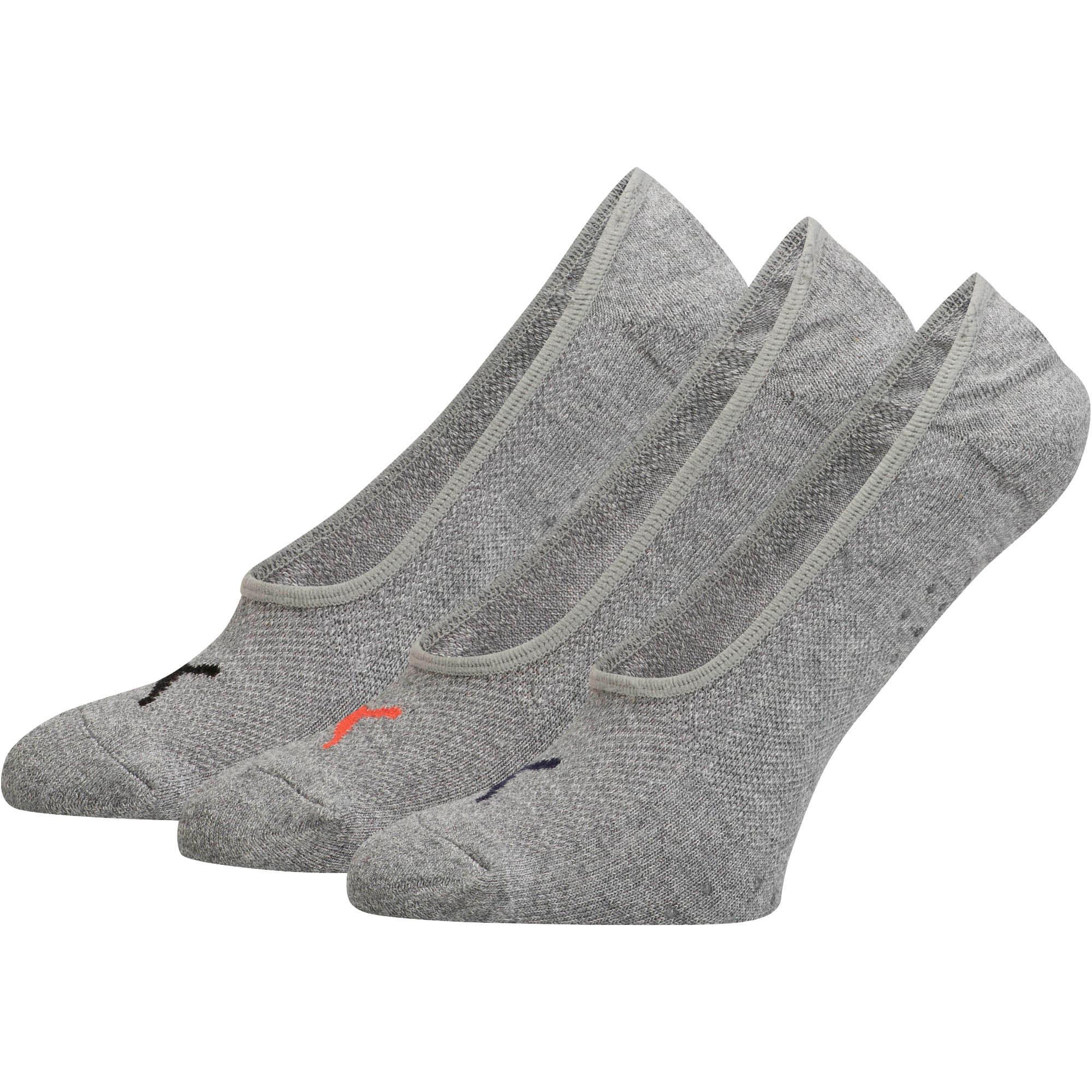 Thumbnail 1 of Women's Select Terry Liner Socks [3 Pack], GREY / PINK, medium