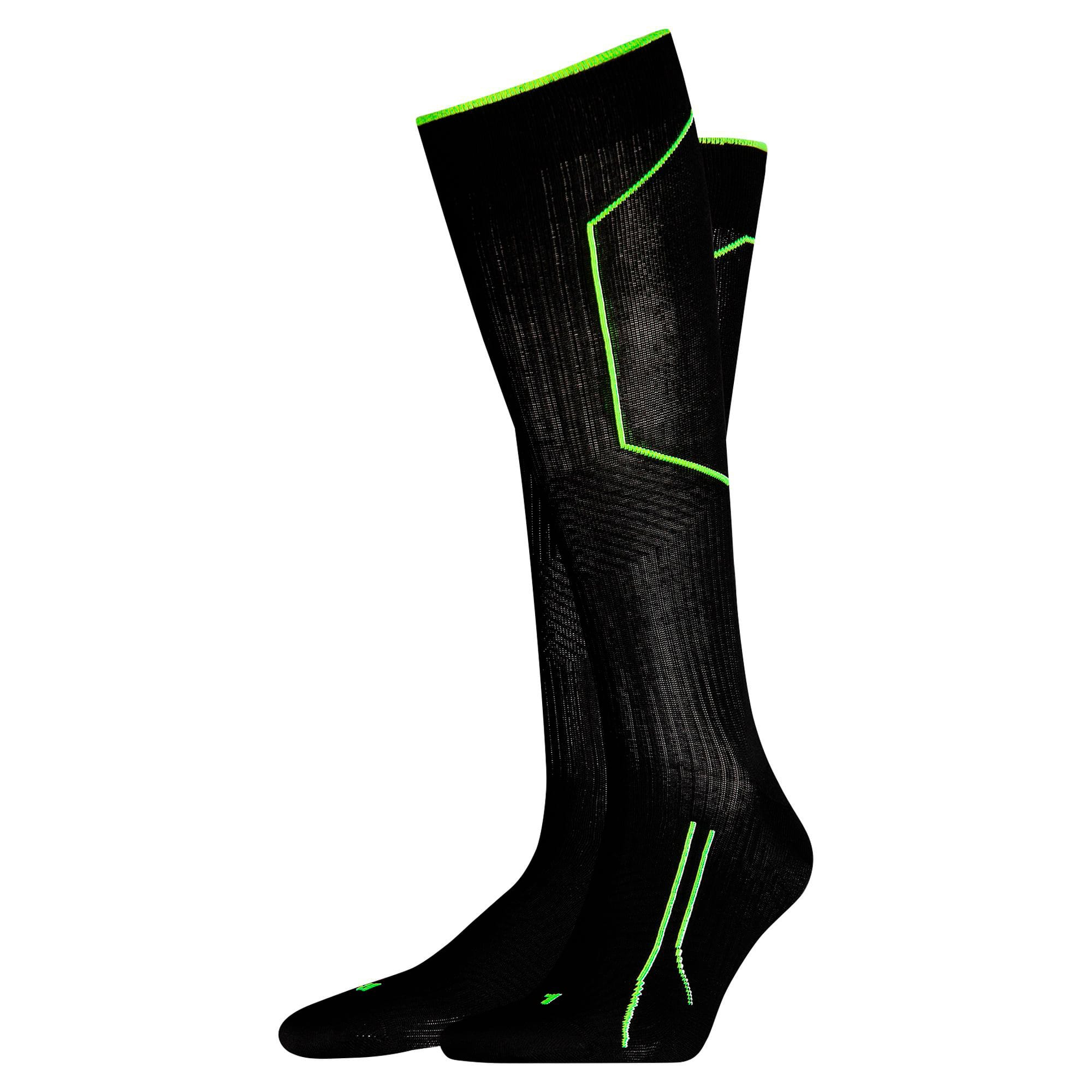 Thumbnail 1 of Running  Cell Knee High Socks, black, medium