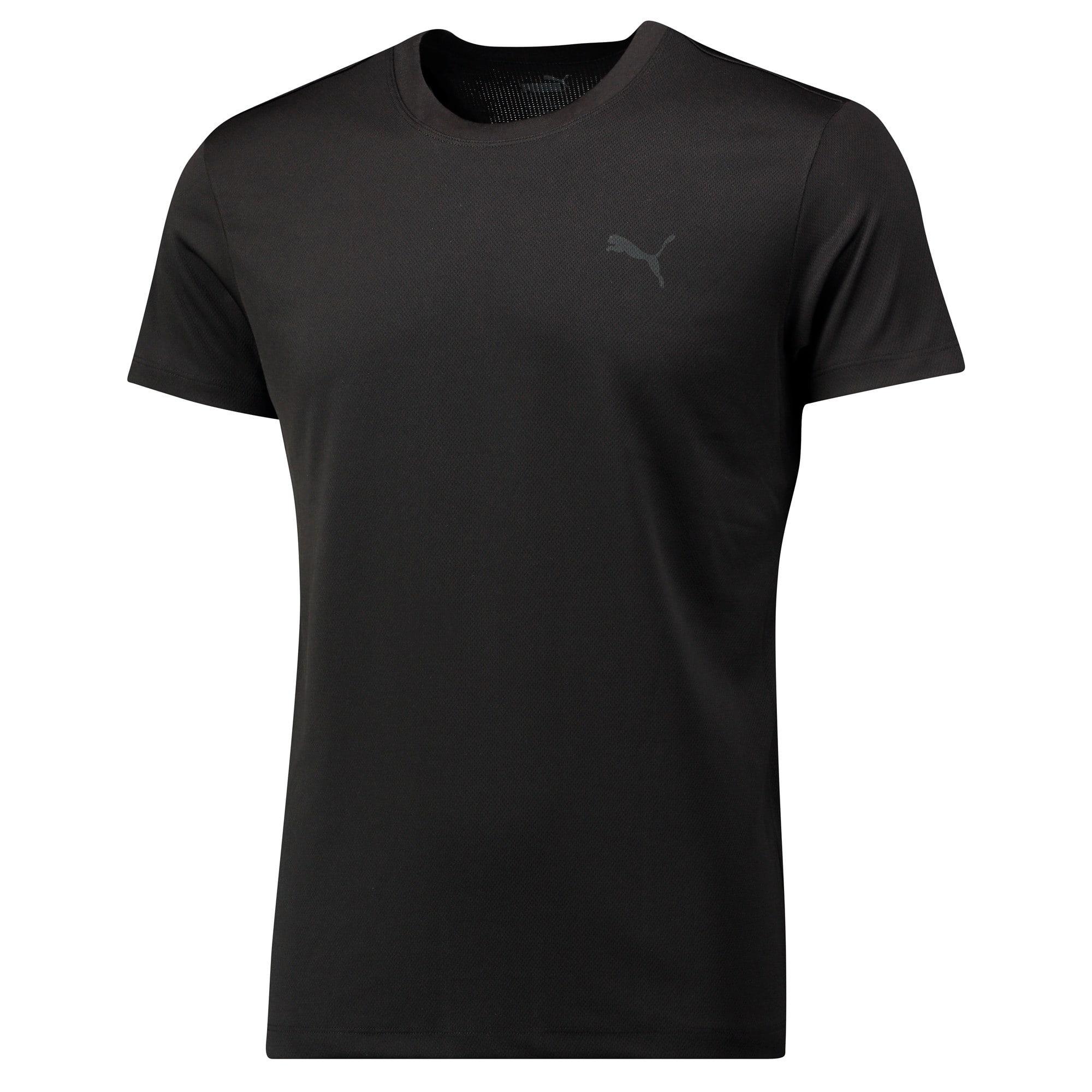 Thumbnail 3 of Active Cree T-Shirt voor heren, black, medium