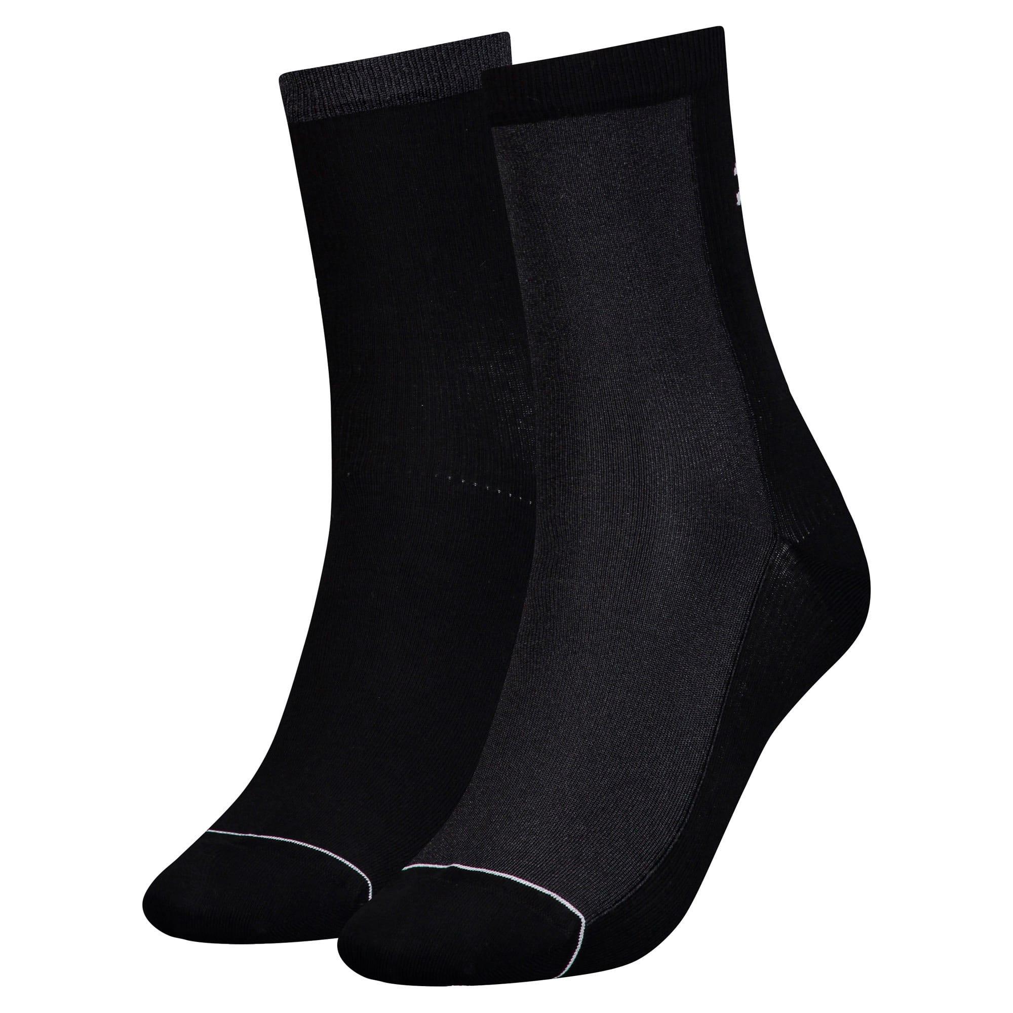 Thumbnail 1 of Radiant Women's Socks 2 Pack, black, medium