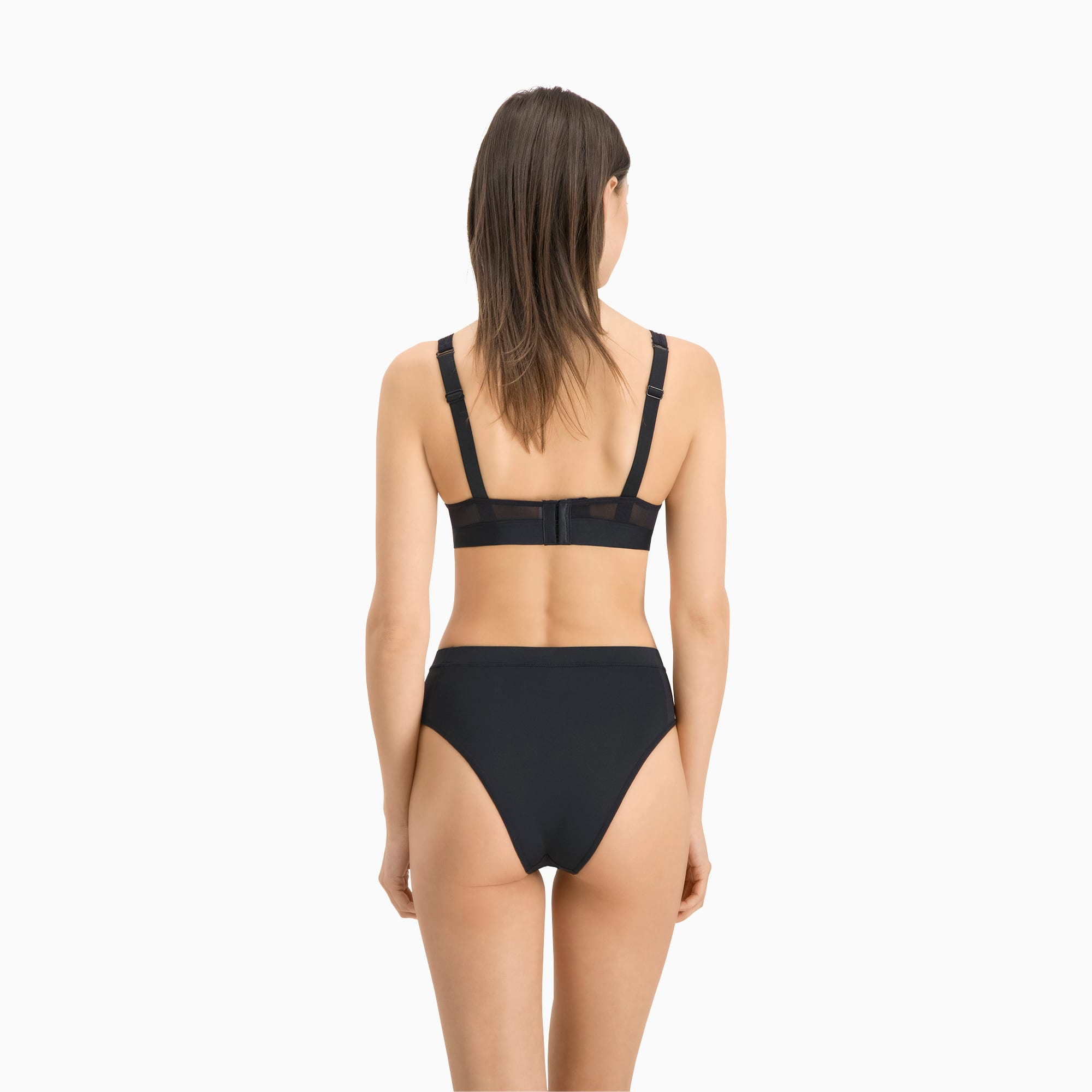 2er Pack Unterhosen PUMA Damen Brazilian Slip Unterwäsche