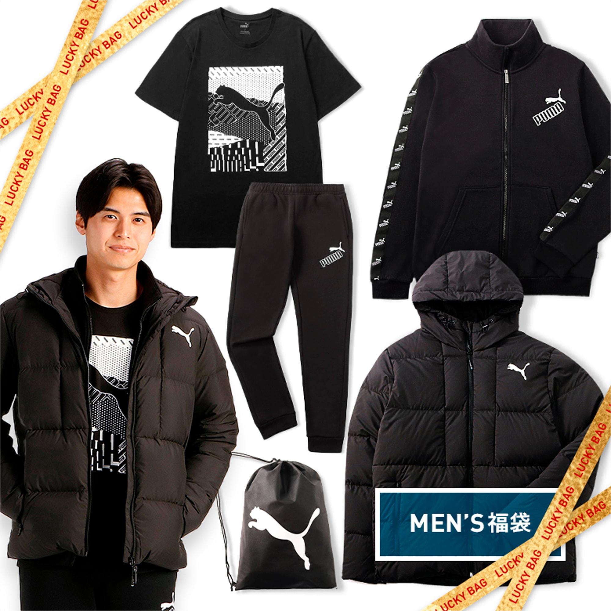 2021 メンズ 福袋 LUCKY BAG, black, extralarge-JPN