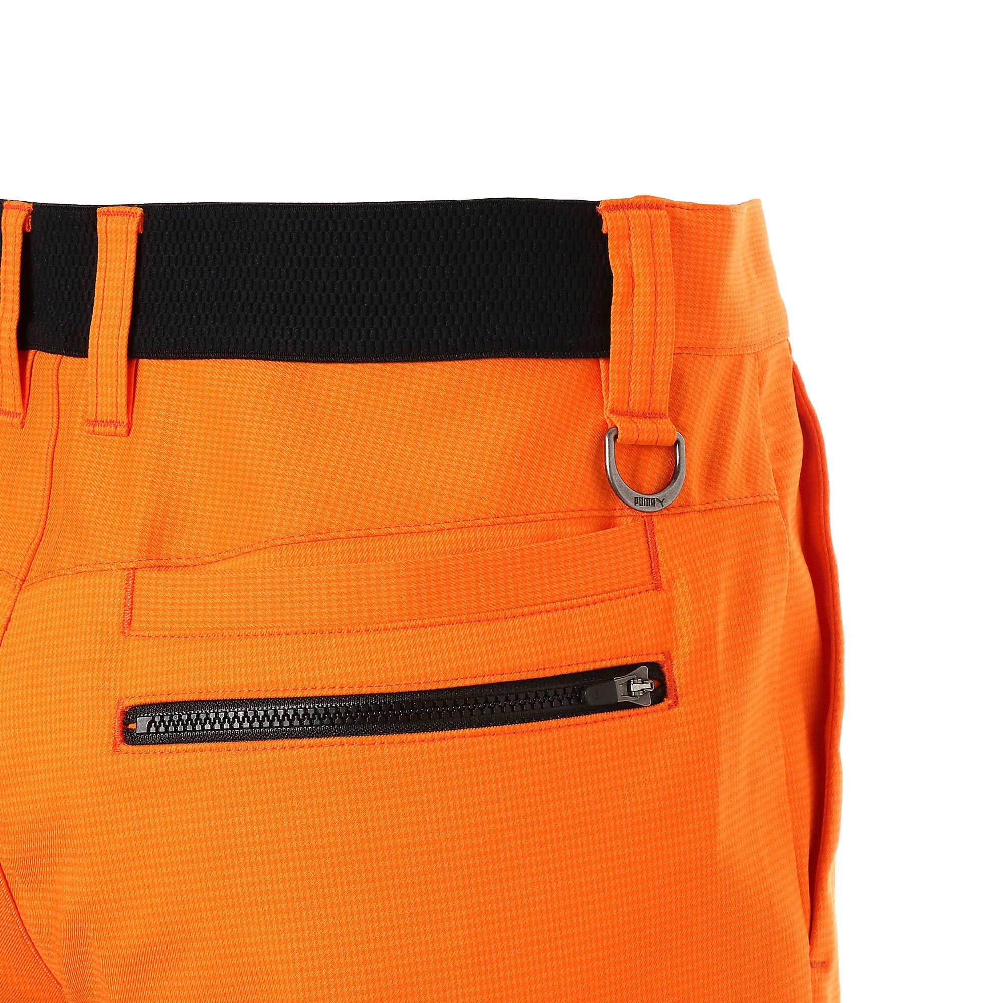 Thumbnail 8 of ゴルフ フュージョン 3Dテーパードパンツ, Vibrant Orange, medium-JPN