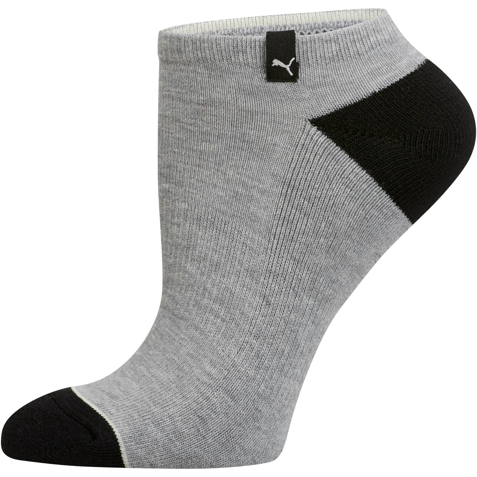 Thumbnail 4 of Women's No Show Socks (3 Pack), MD COMBO, medium