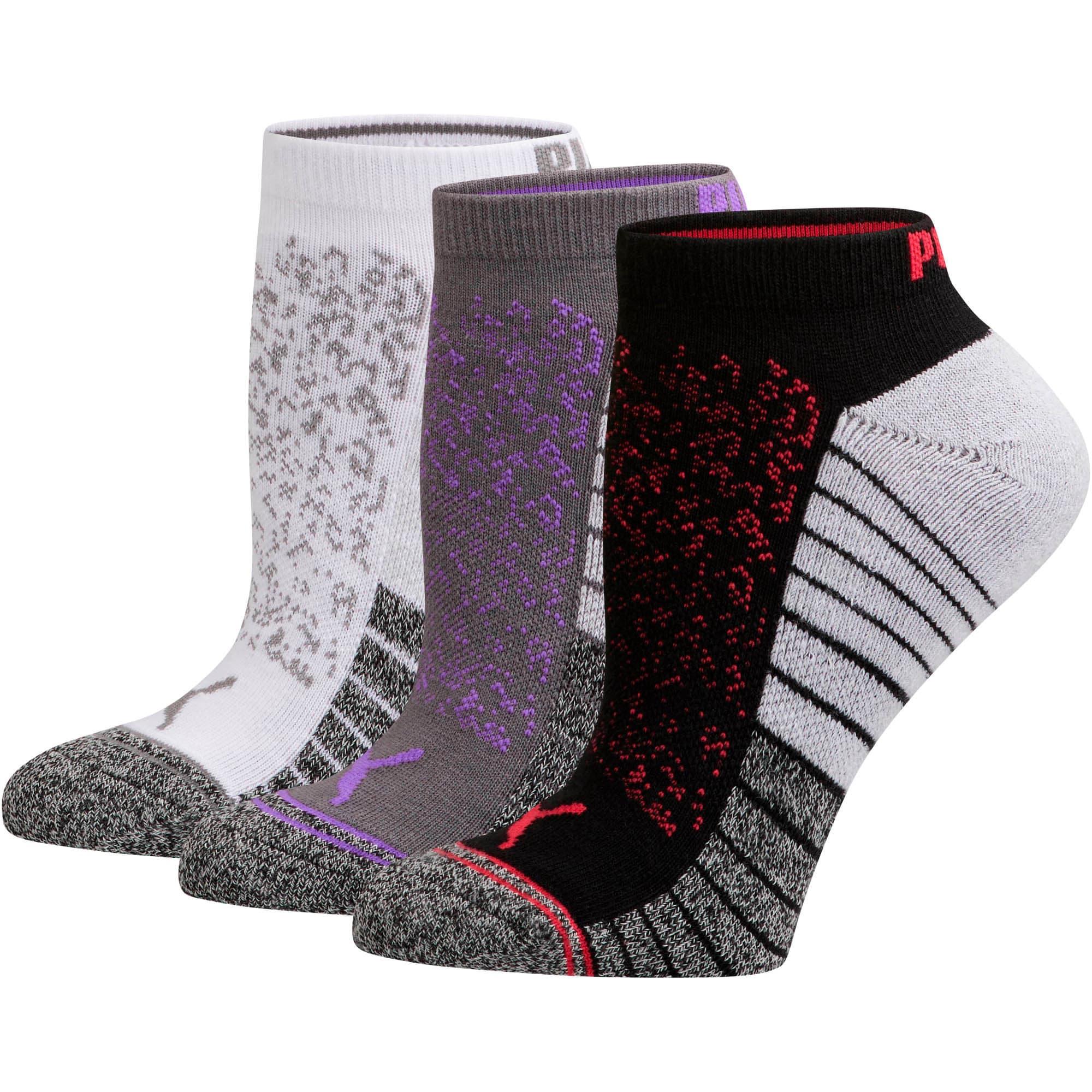 Thumbnail 1 of Women's Low Cut Socks [3 Pack], DARK GREY, medium