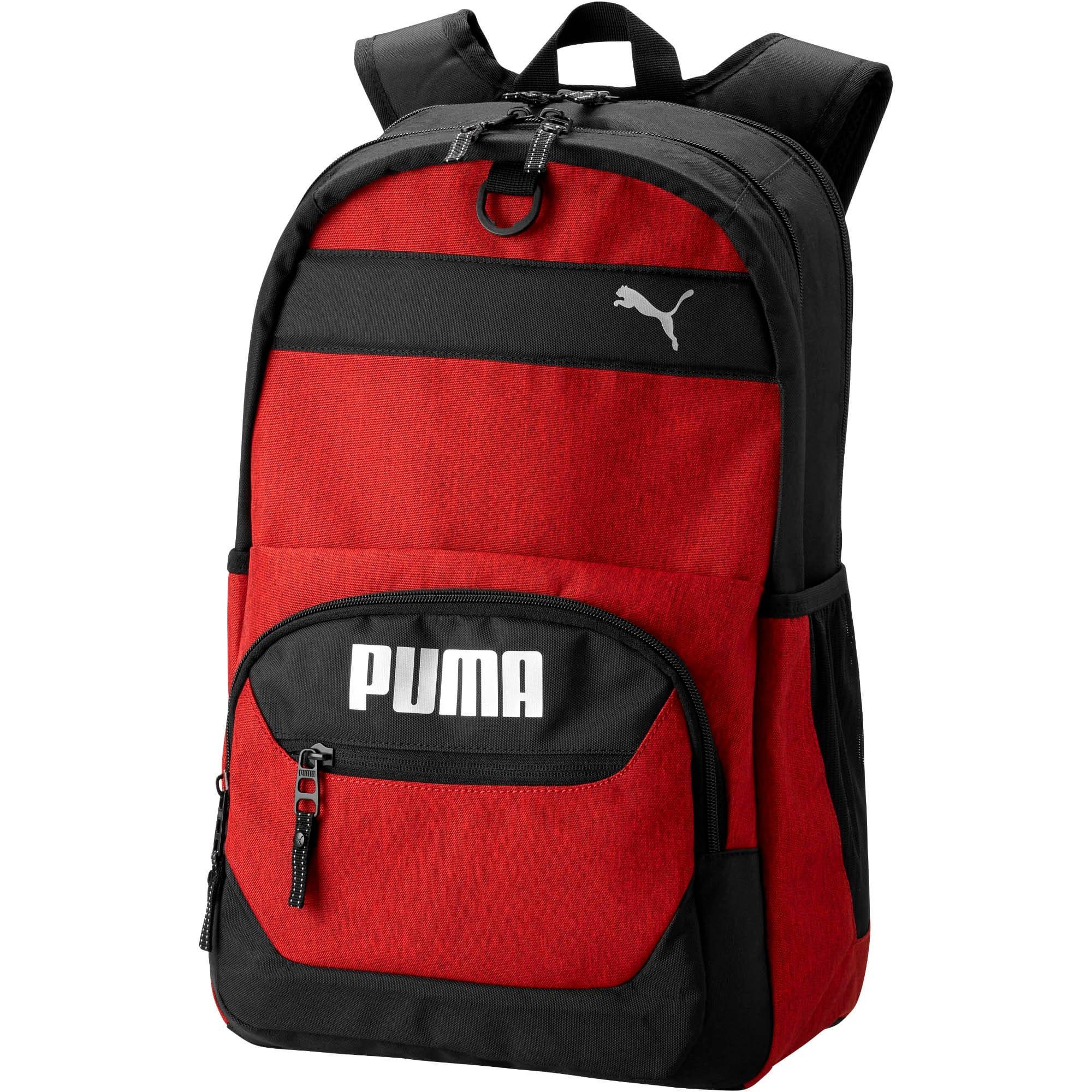 Thumbnail 1 of PUMA Everready Backpack, Red/Black, medium