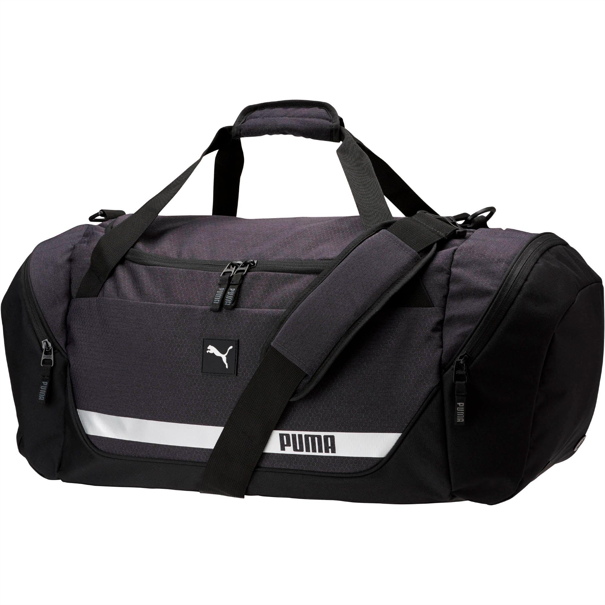 PUMA Mens Protocol Hybrid Duffel Black One Size
