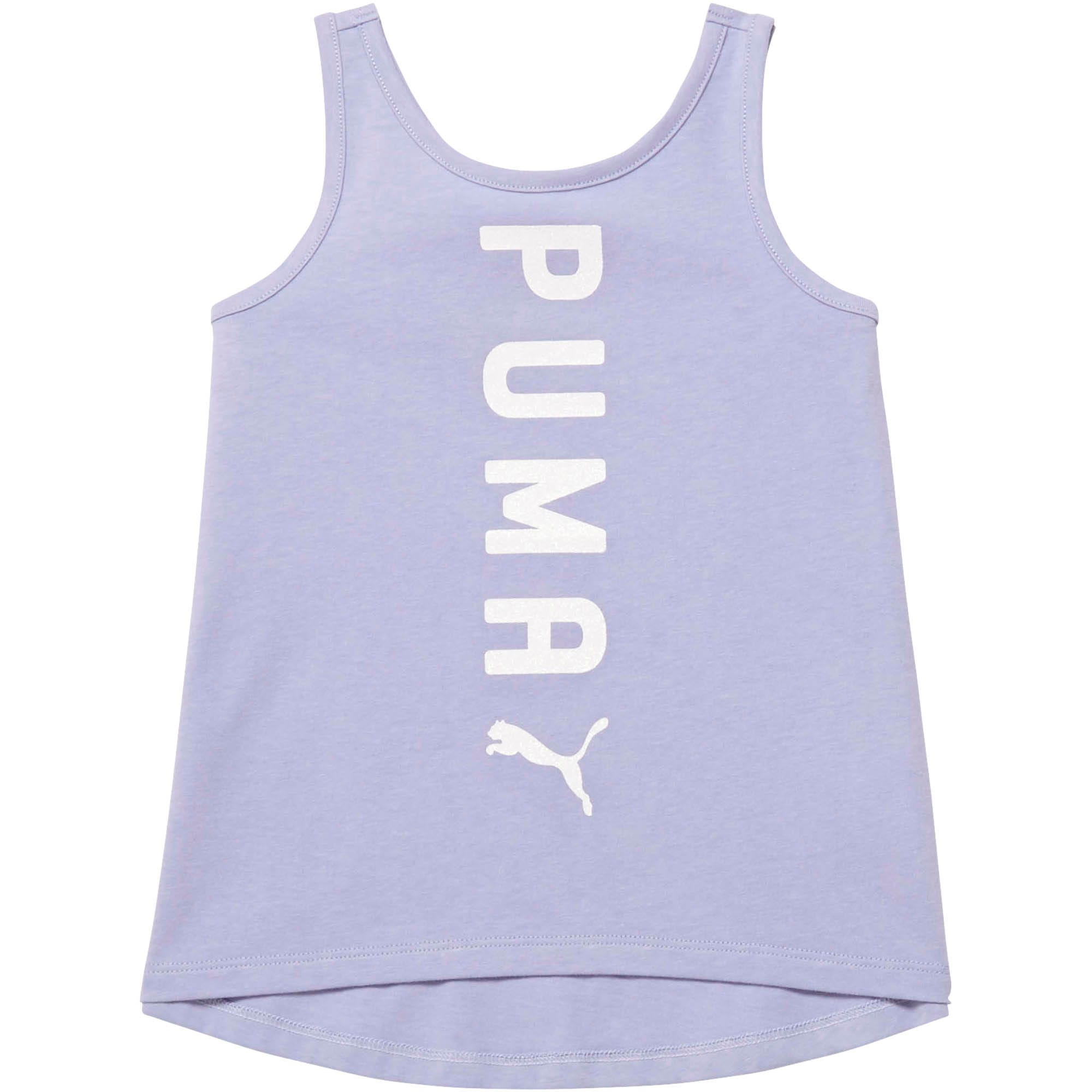 Thumbnail 1 of Toddler Crossover Fashion Tank, SWEET LAVENDER, medium