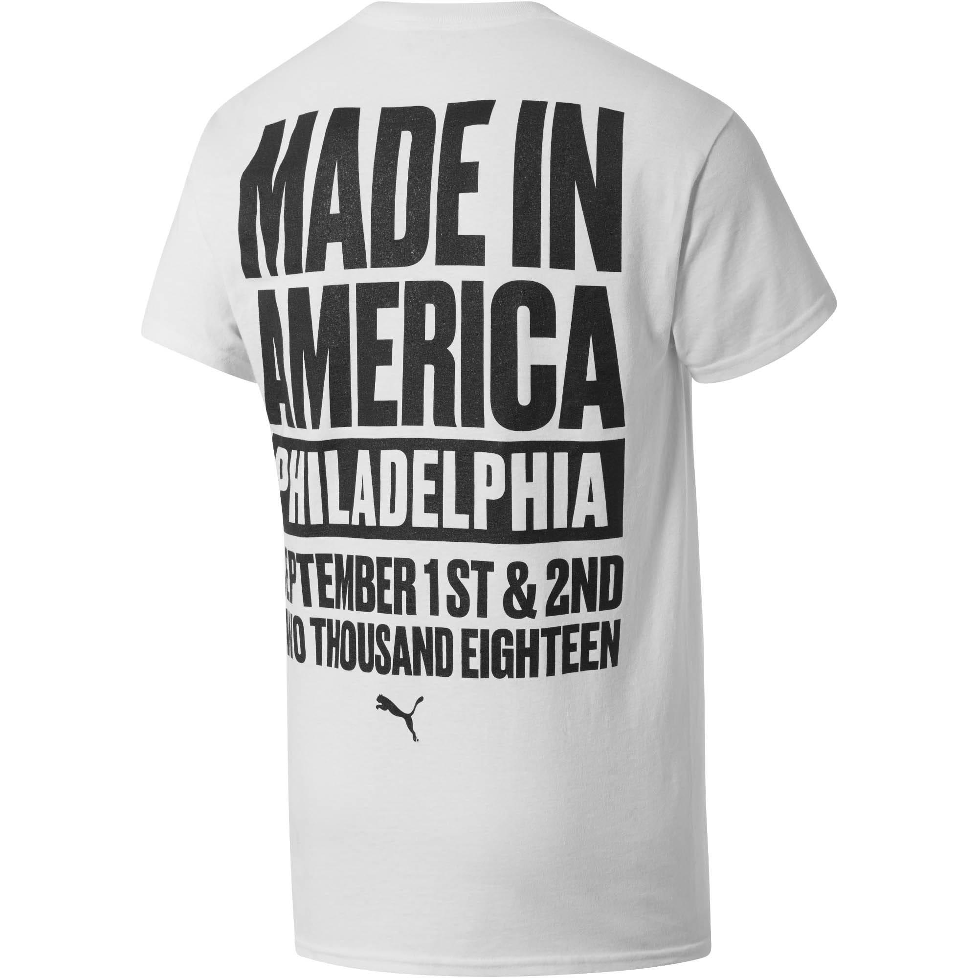Thumbnail 2 of PUMA Equality x MIA x Josh Vides Men's Classic Short Sleeve T-Shirt with Pocket, White, medium