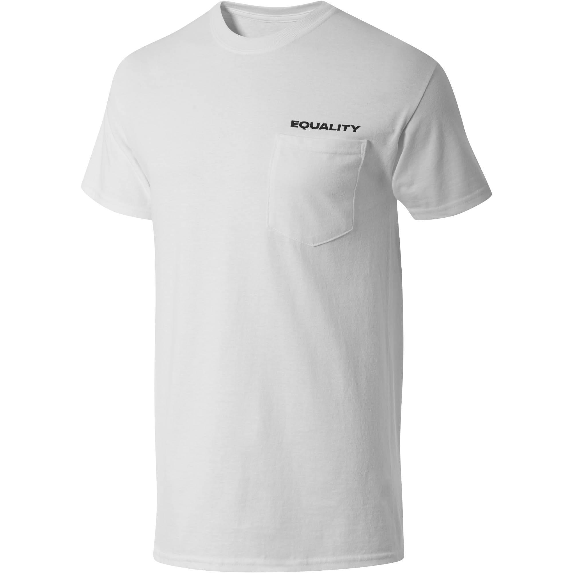 Thumbnail 1 of PUMA Equality x MIA x Josh Vides Men's Classic Short Sleeve T-Shirt with Pocket, White, medium