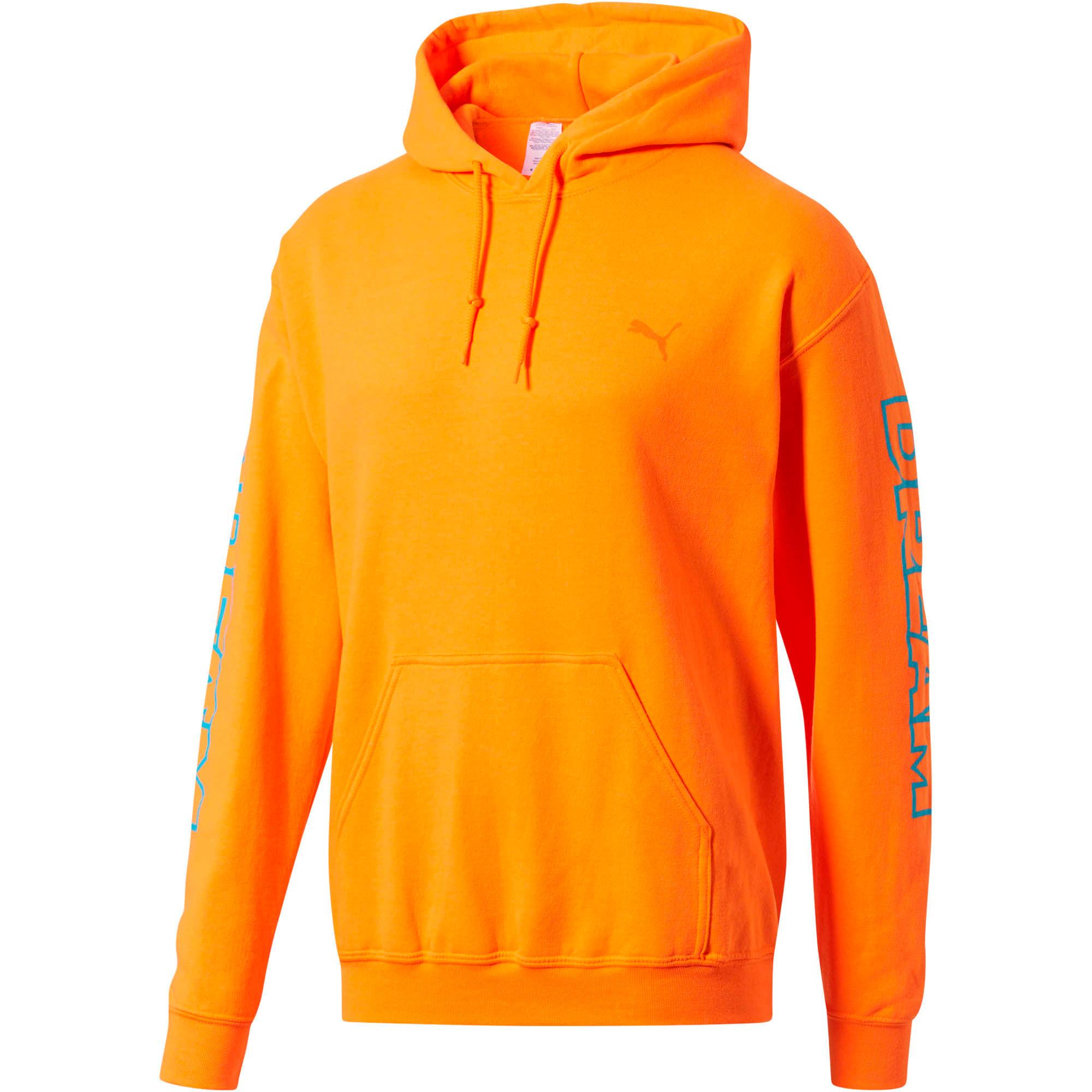 Thumbnail 1 of PUMA x DCMX Dream Hoodie, Safety Orange, medium