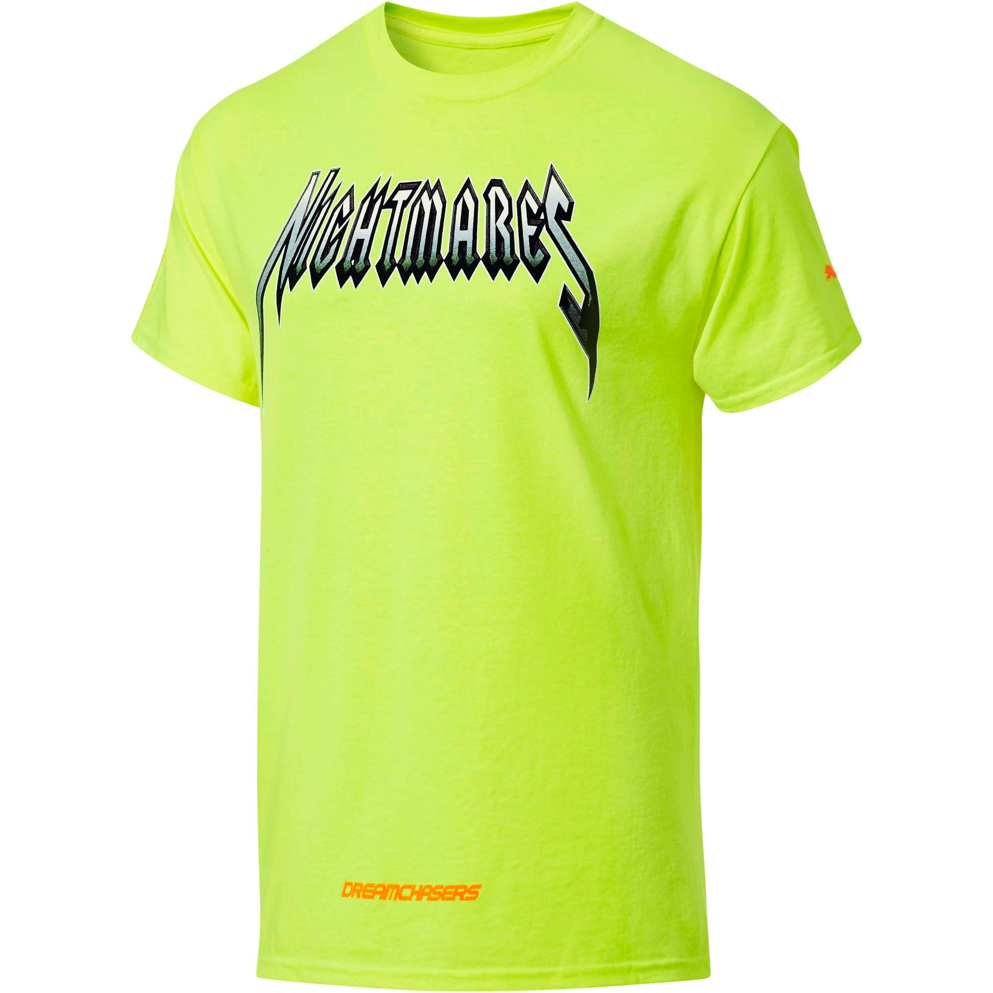 PUMA x DCMX Nightmares Tee, Safety Green, large