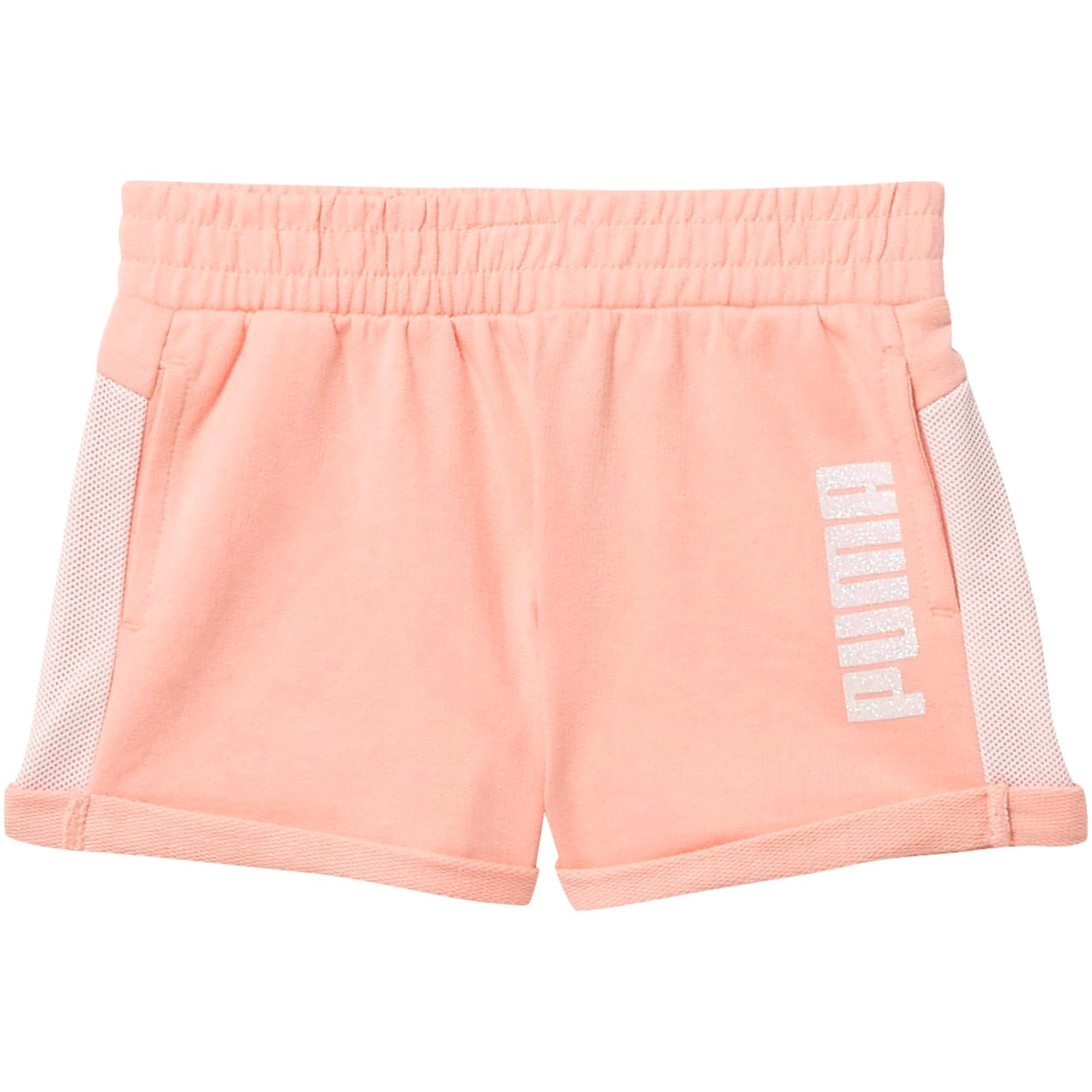 Thumbnail 1 of Mesh Fashion Toddler Shorts, PEACH BUD, medium