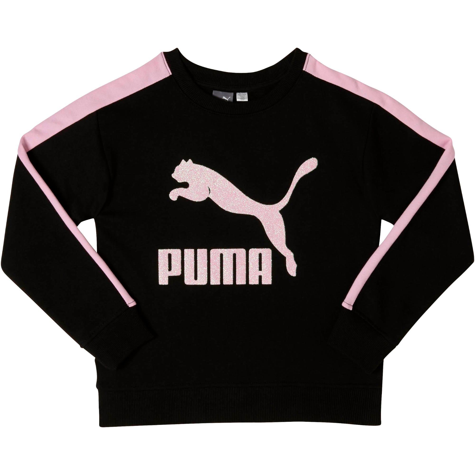 PUMA Little Girls Fleece Pullover