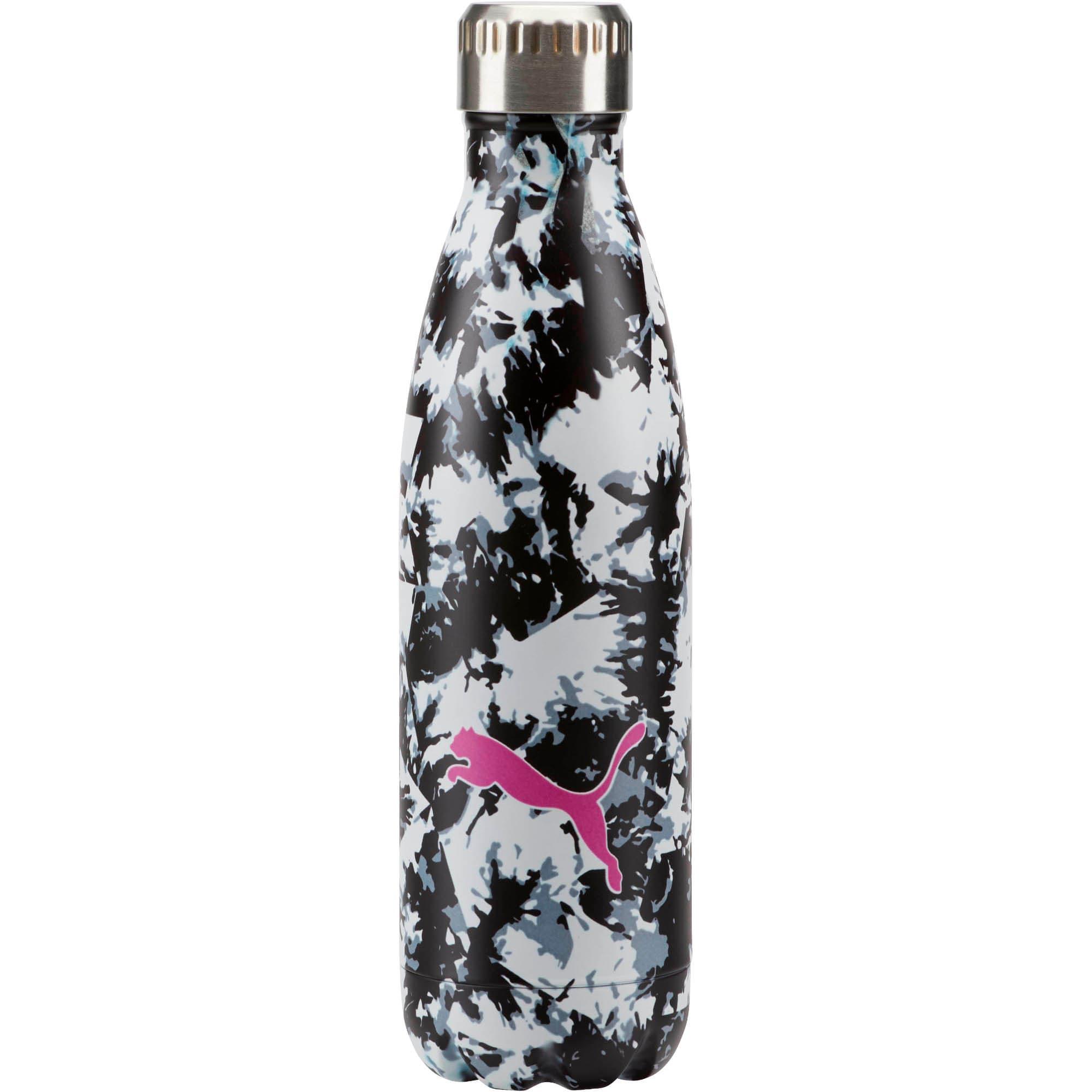 Thumbnail 1 of PUMA Chroma Vacuum Stainless Steel 17 oz. Water Bottle, Black White Camo, medium