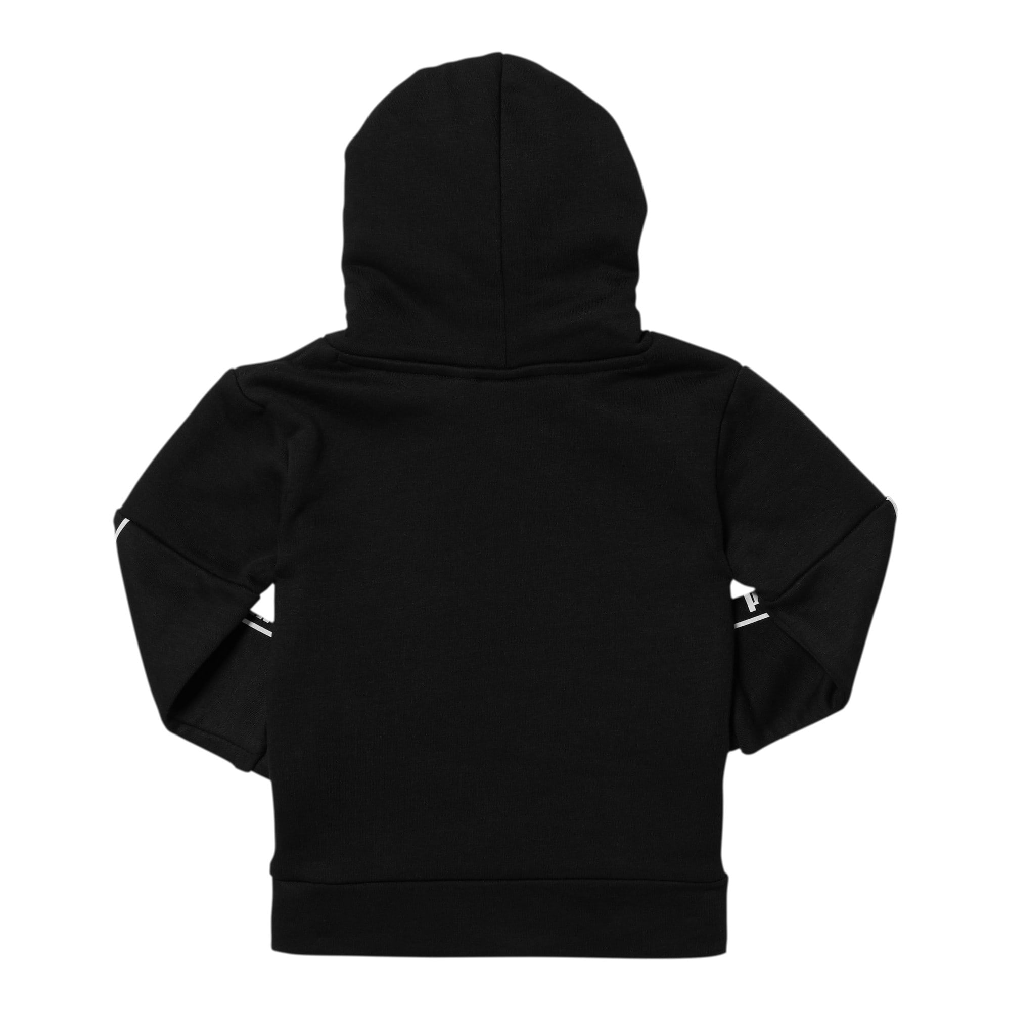 Thumbnail 2 of Amplified Pack Toddler Fleece Hoodie, PUMA BLACK, medium