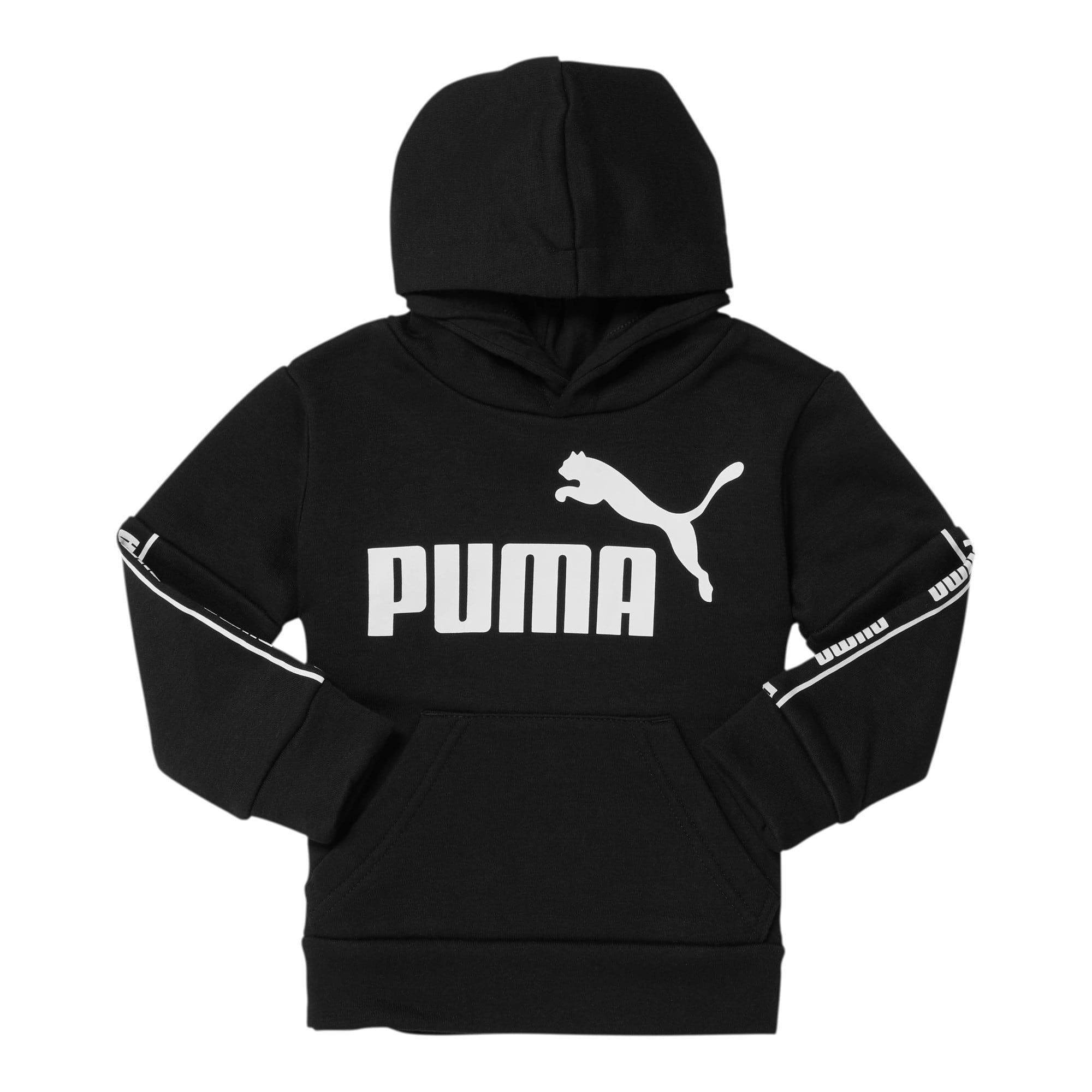 Thumbnail 1 of Amplified Pack Toddler Fleece Hoodie, PUMA BLACK, medium
