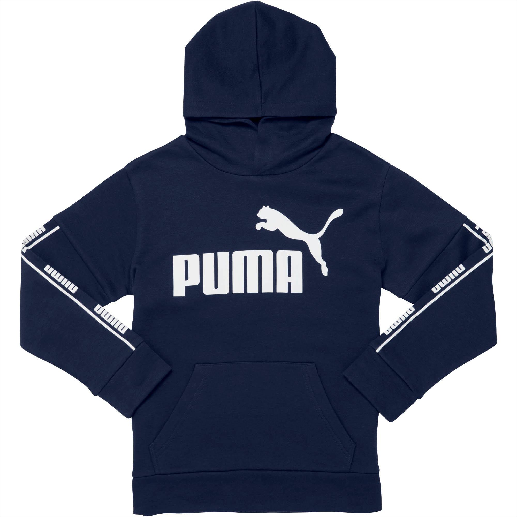 PUMA Boys Boys Fleece Hoodie Hooded Sweatshirt