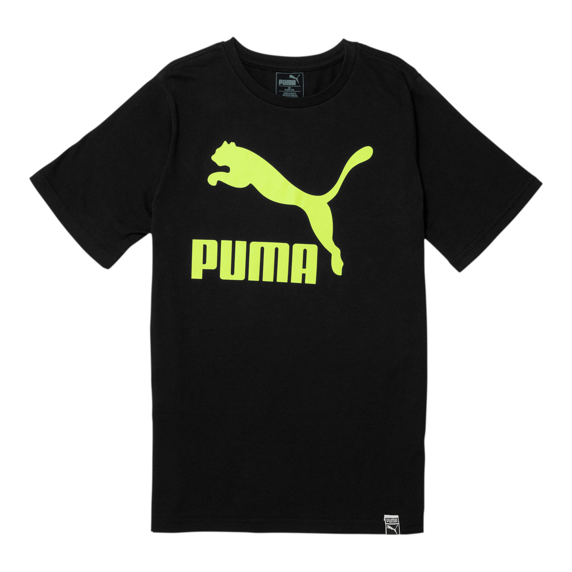 Thumbnail 1 of Classics Pack Boys' Archive Logo Tee JR, PUMA BLACK, medium