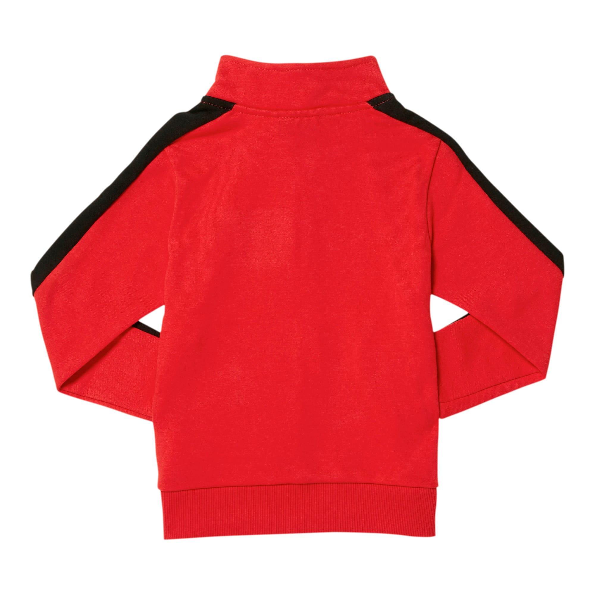 Thumbnail 2 of Little Kids' T7 Track Jacket, HIGH RISK RED, medium