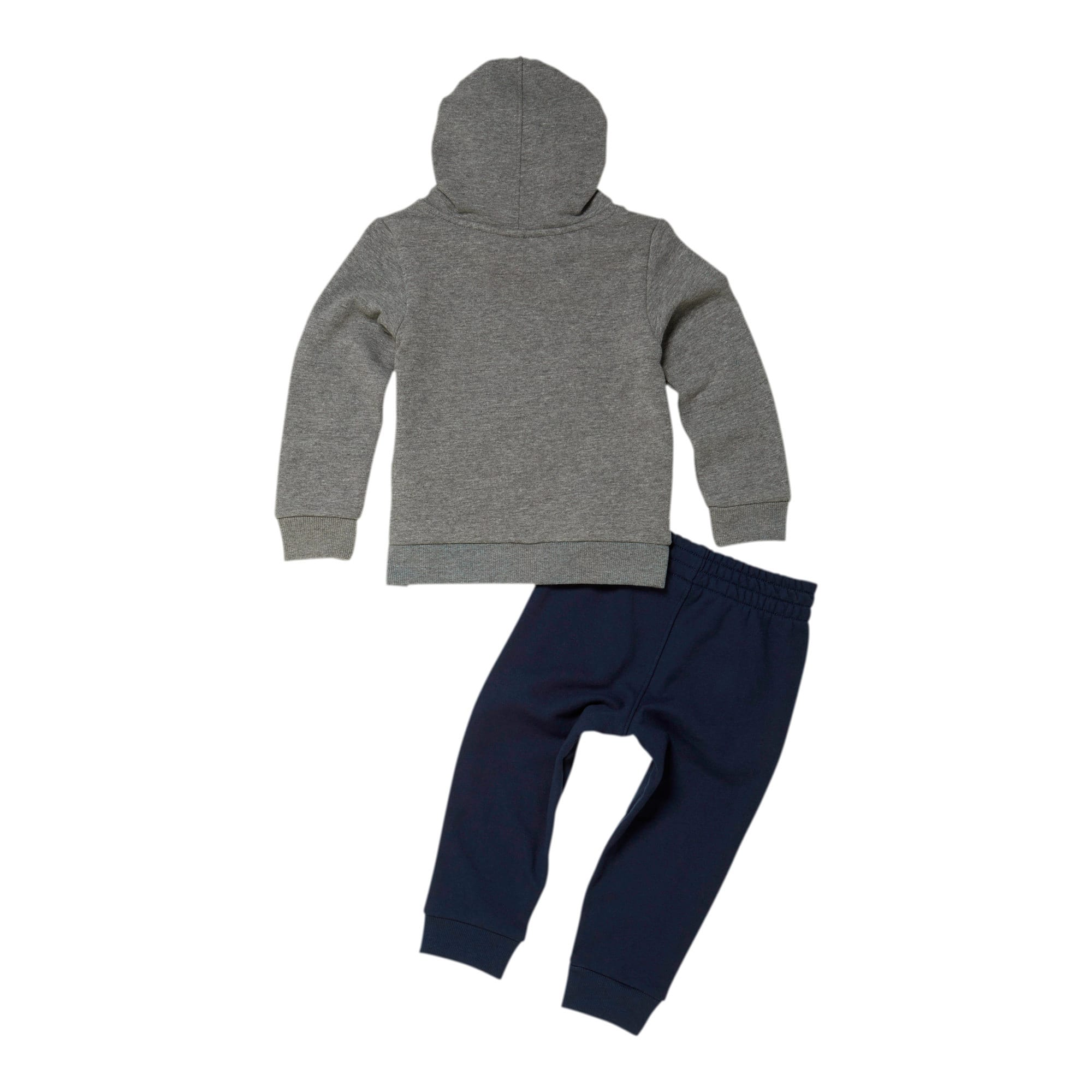 Thumbnail 2 of Classics Pack Infant + Toddler Two-Piece Fleece Set, CHARCOAL HEATHER, medium