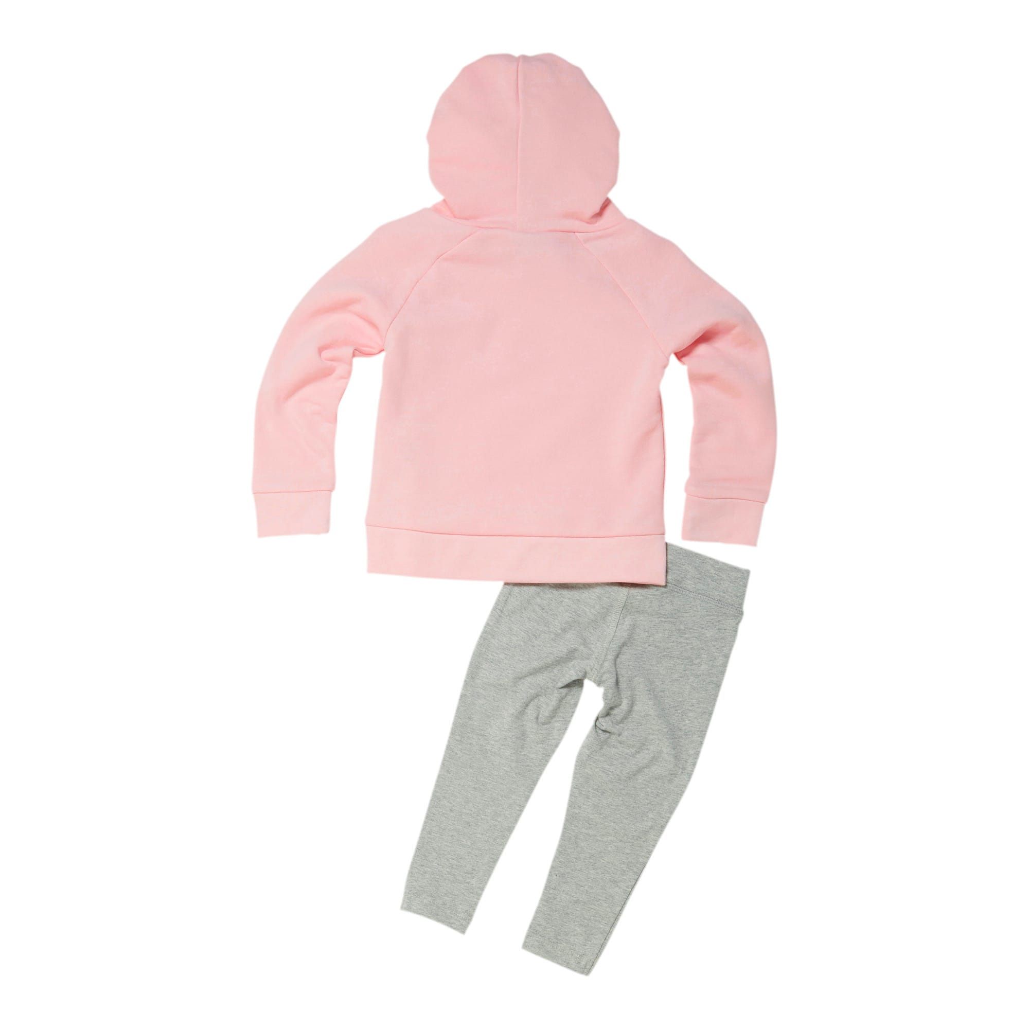 Thumbnail 2 of Toddler Fleece Pullover and Legging Set, CRYSTAL ROSE, medium
