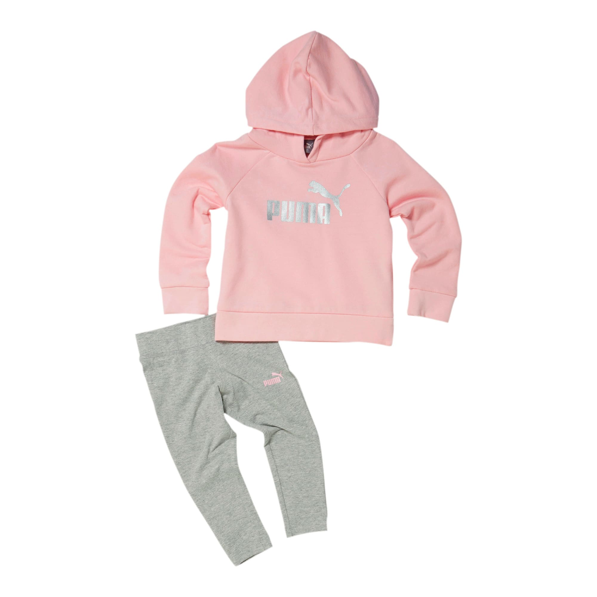 Thumbnail 1 of Toddler Fleece Pullover and Legging Set, CRYSTAL ROSE, medium