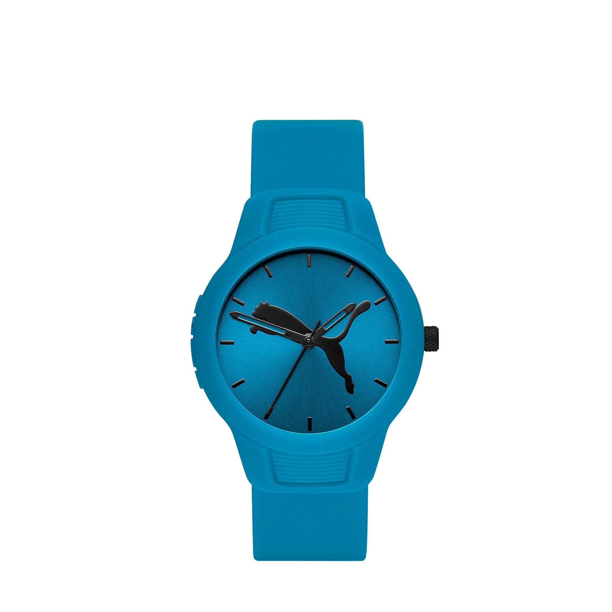Thumbnail 1 of Reset Polyurethane V2 Women's Watch, Blue/Blue, medium