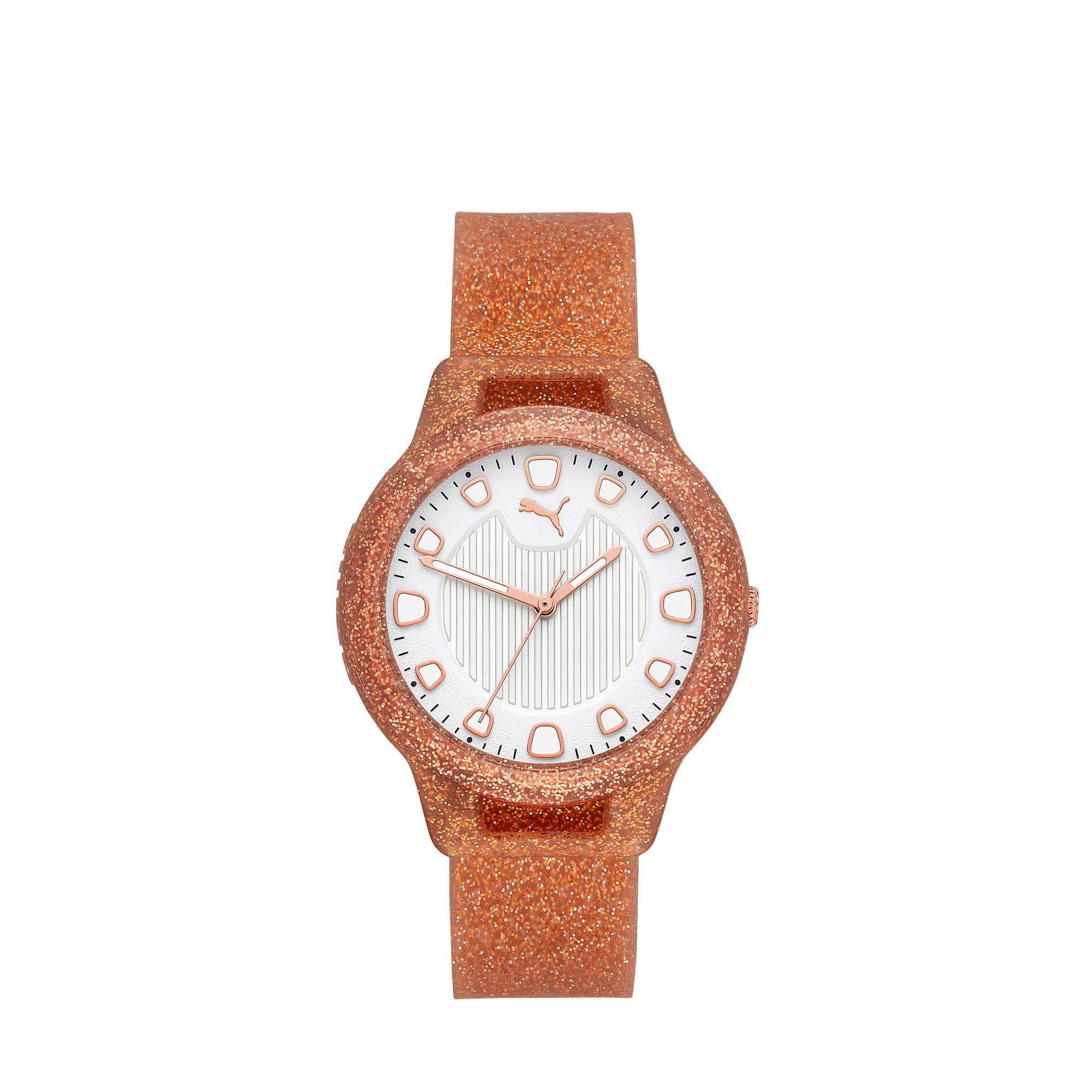 Thumbnail 1 of Reset Silicone V1 Women's Watch, Rose Gold/Rose Gold, medium