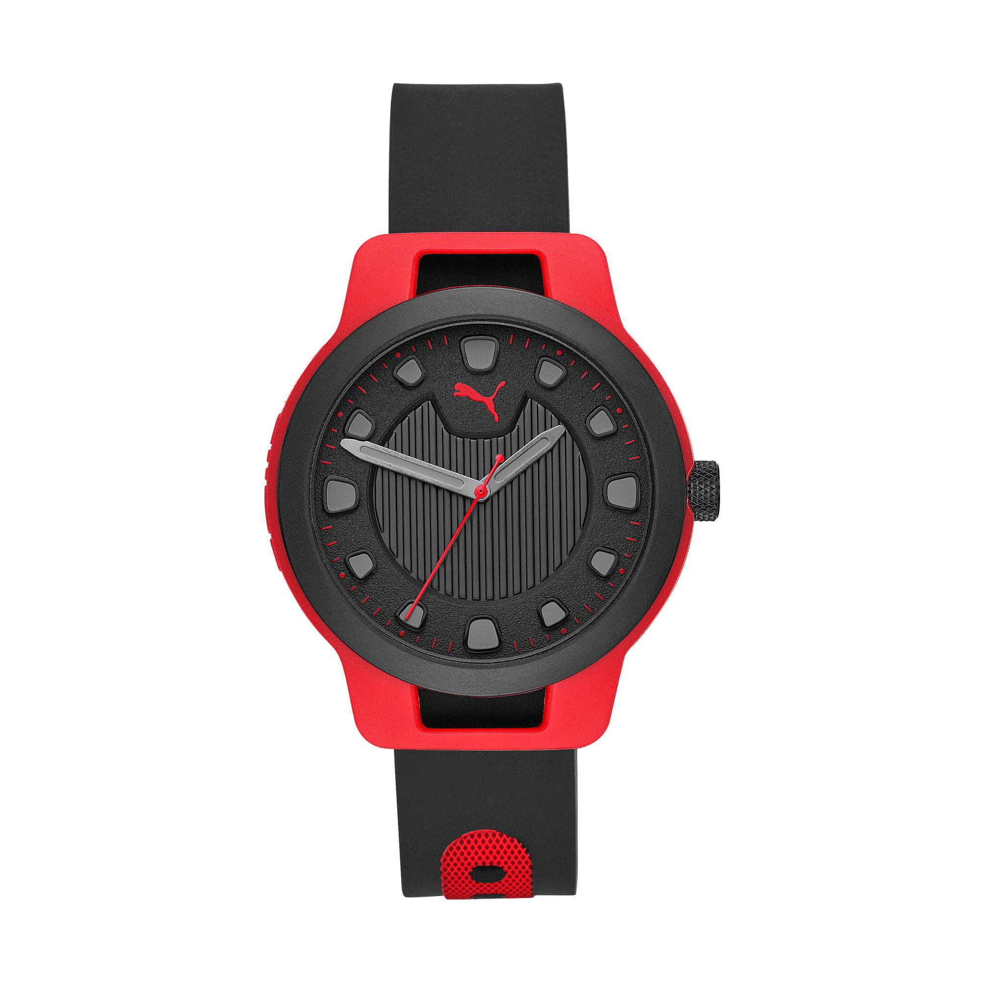 Thumbnail 1 of Reset v1 Watch, Red/Black, medium