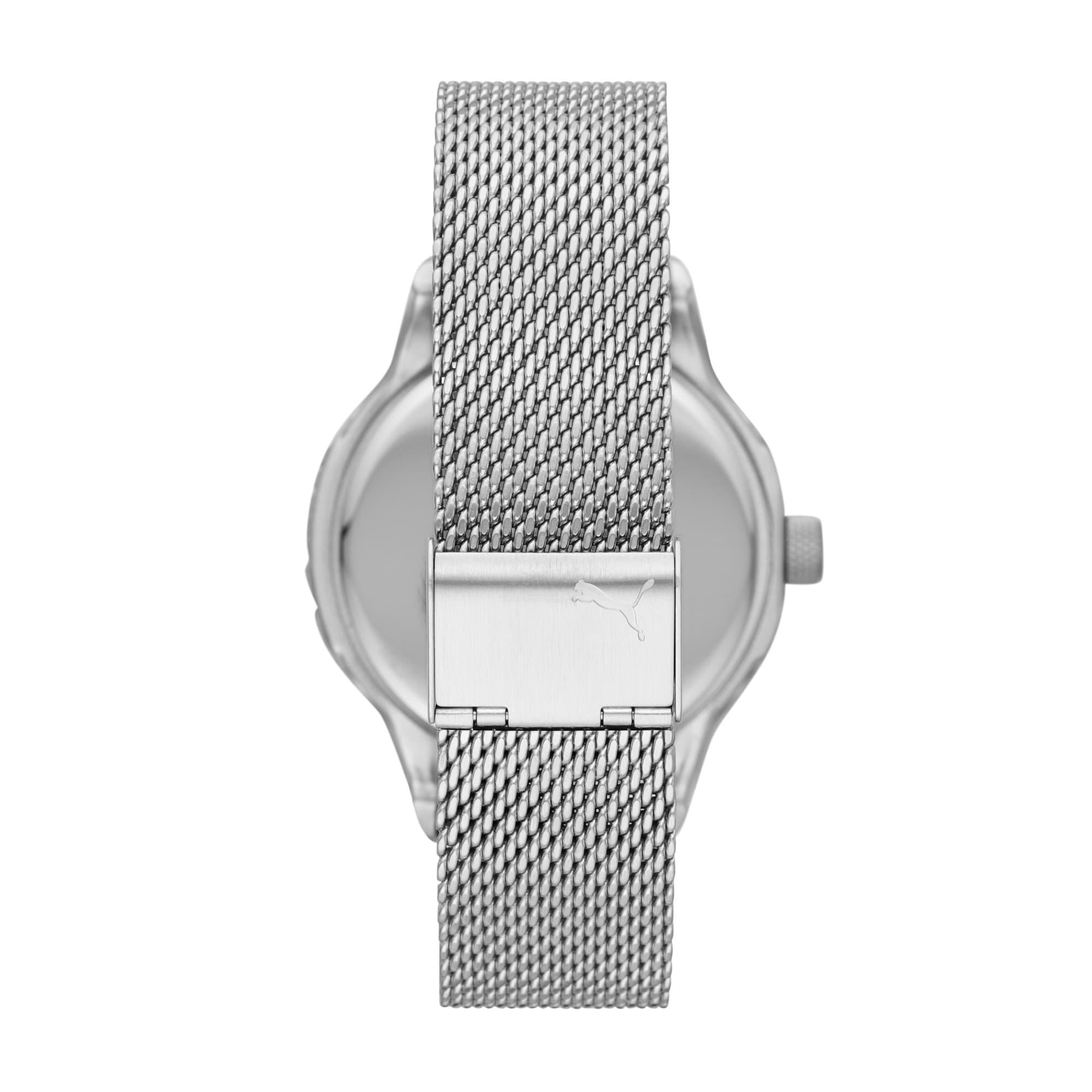 Thumbnail 3 of Reset v1 Watch, Silver/Silver, medium
