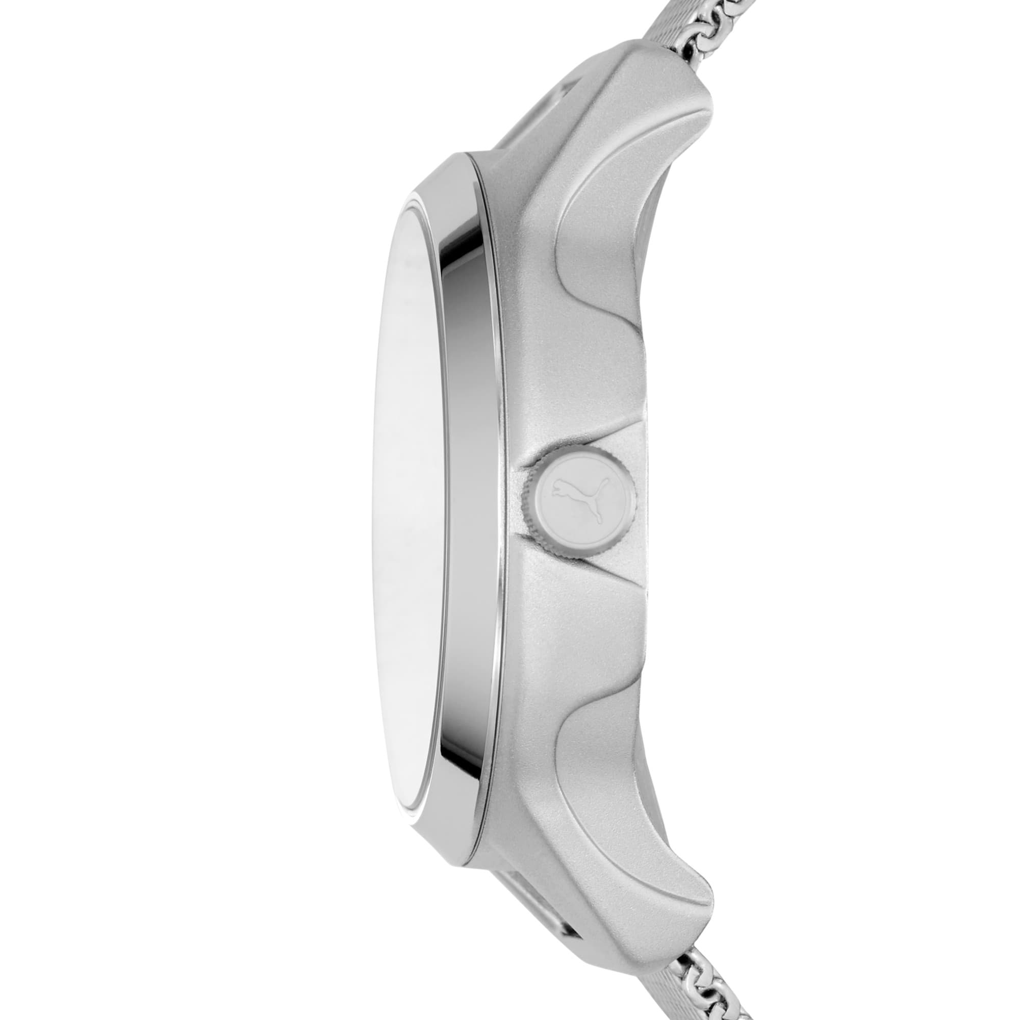 Thumbnail 4 of Reset v1 Watch, Silver/Silver, medium