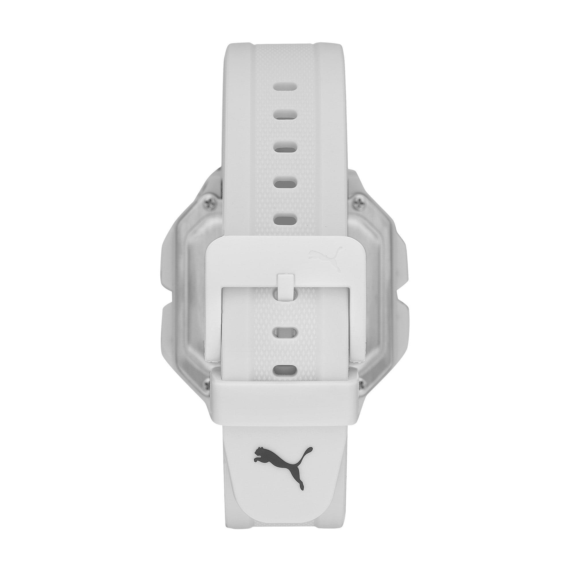 Thumbnail 2 of Remix White Digital Watch, White/White, medium