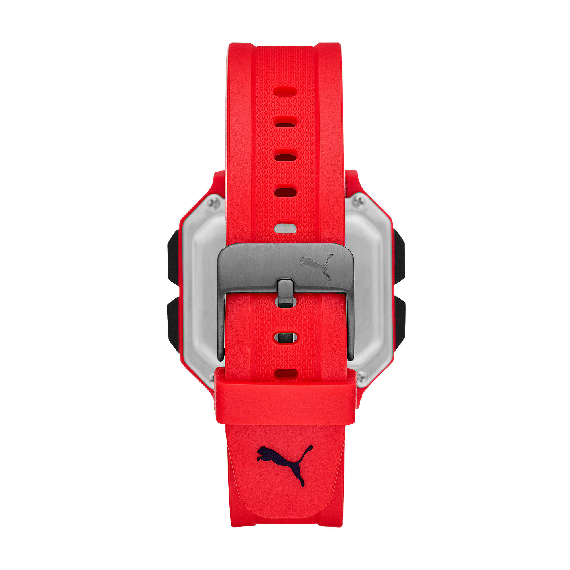 Thumbnail 2 of Remix Red Digital Watch, Red/Red, medium