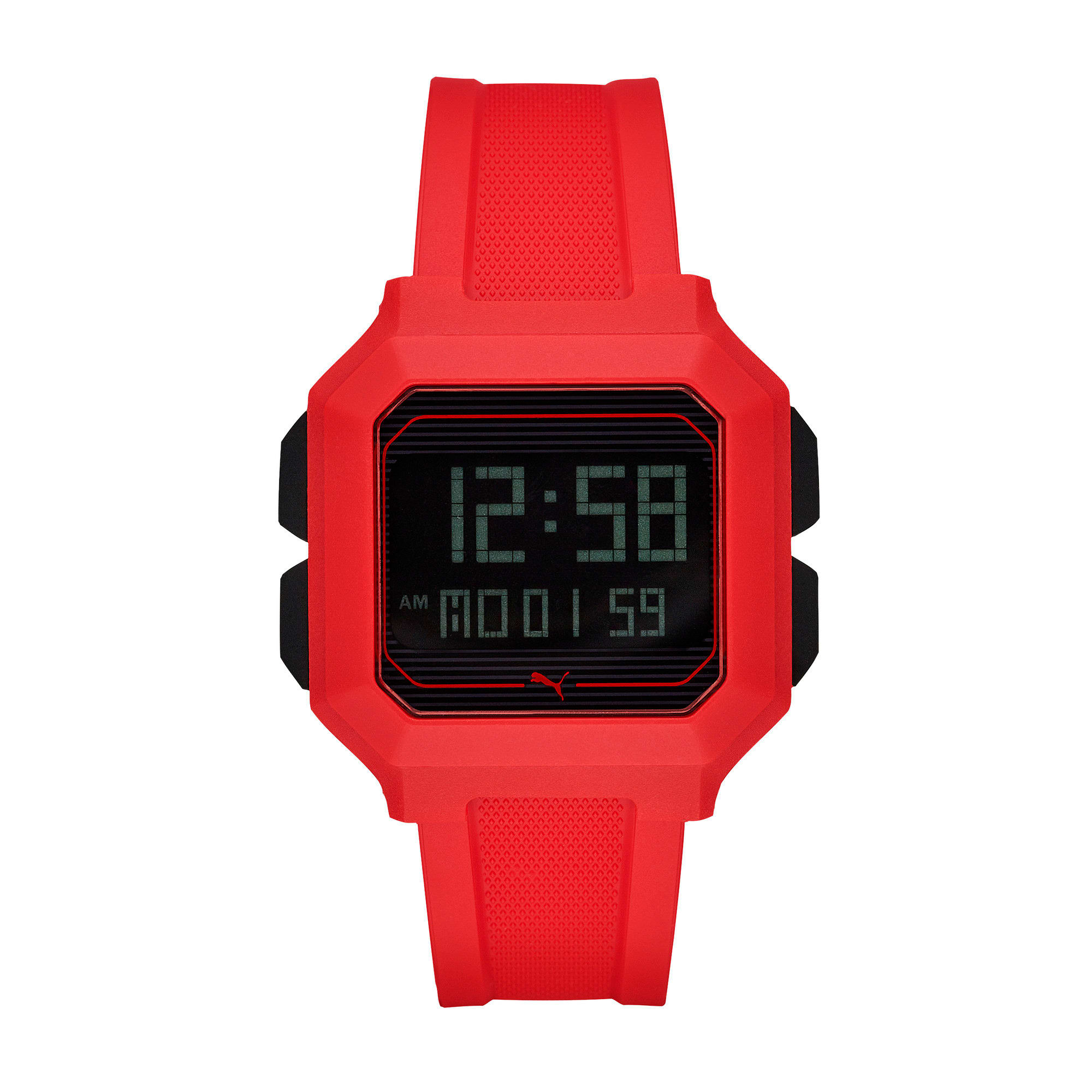 Thumbnail 1 of Remix Red Digital Watch, Red/Red, medium