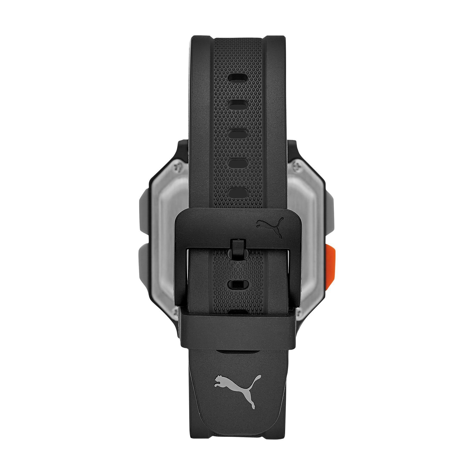 Thumbnail 2 of Reset Black Digital Watch, Black/Black, medium