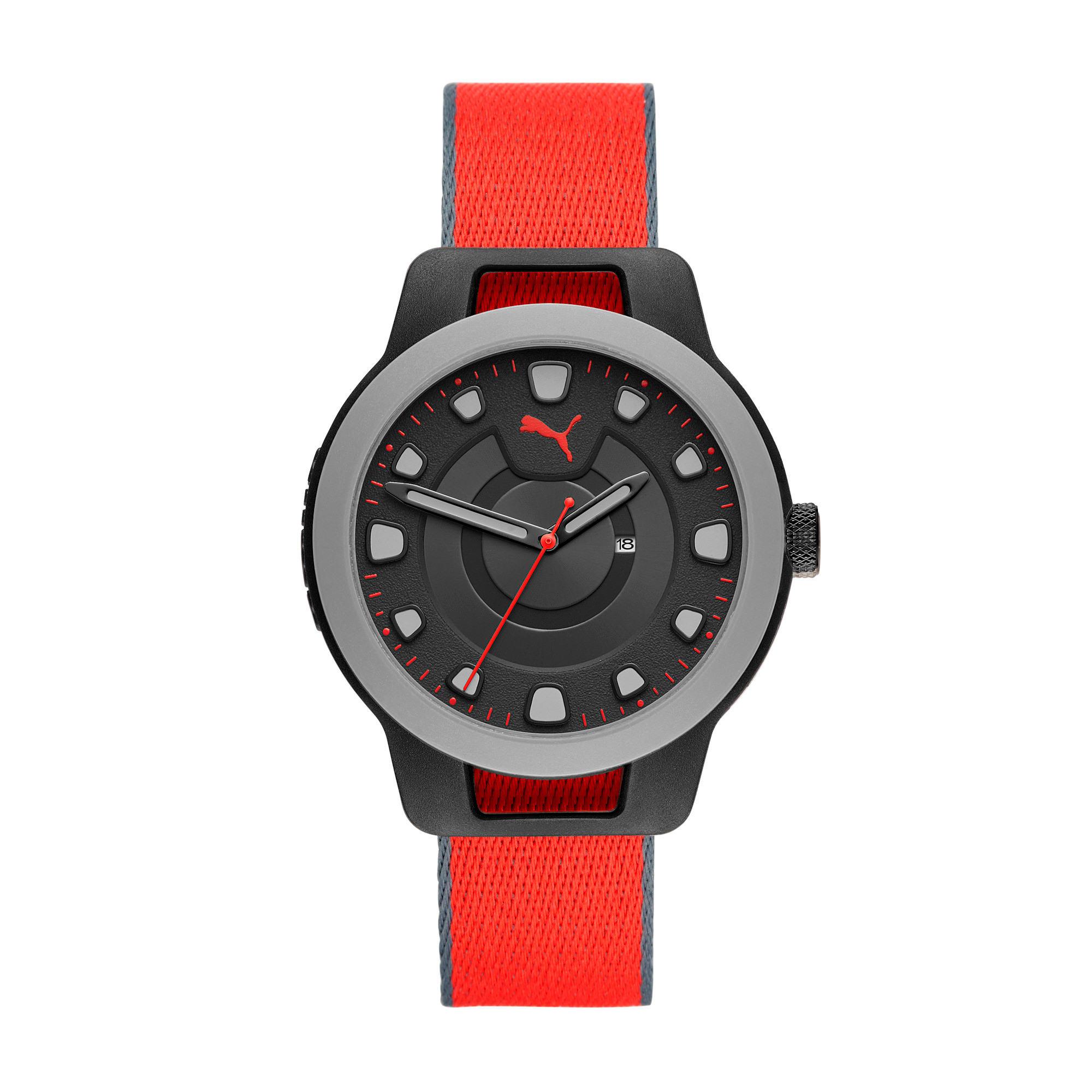 Thumbnail 3 of Reset v1 Reversible Watch, Blue/Red, medium