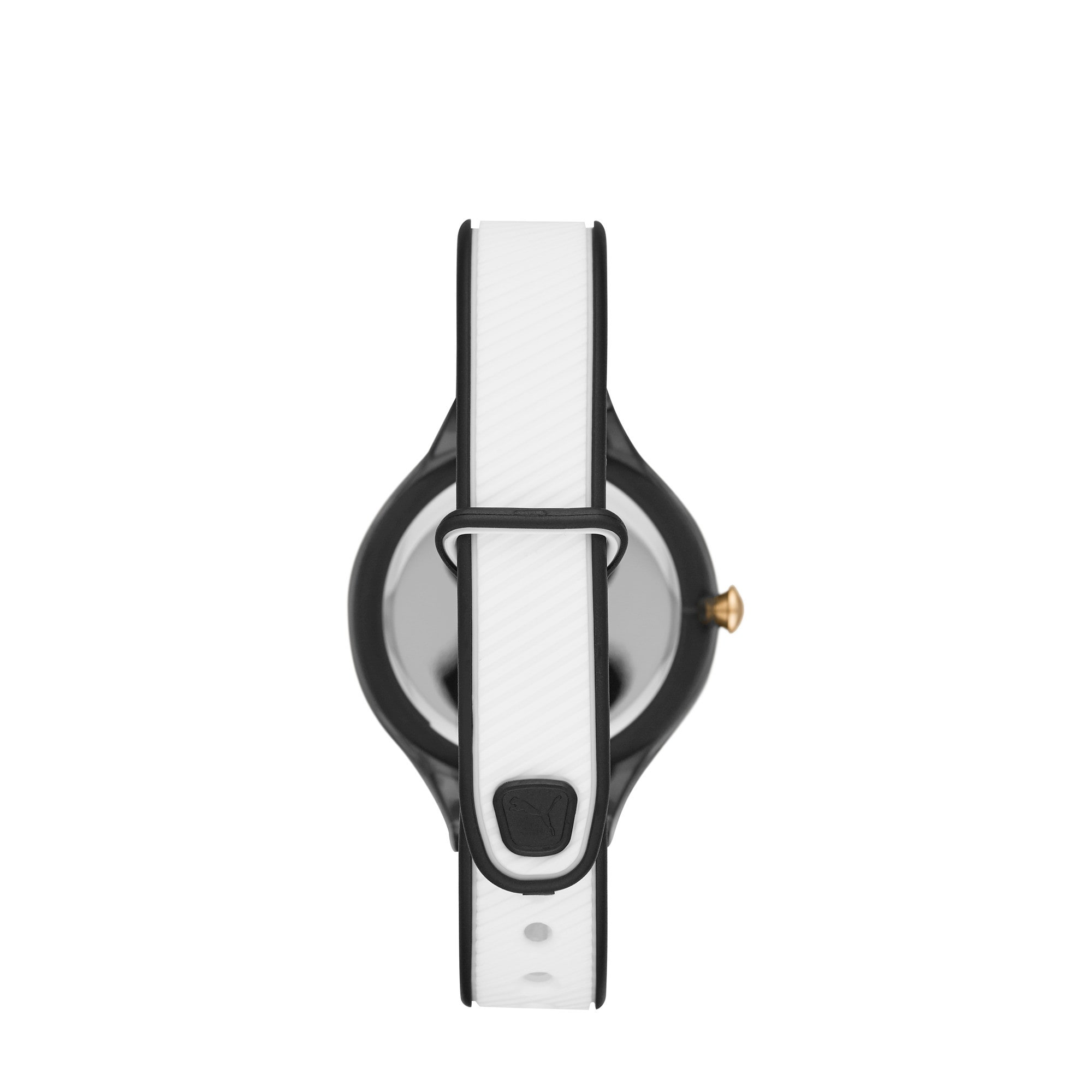 Thumbnail 2 of CONTOUR Ultra Slim Women's Watch, Black/White, medium