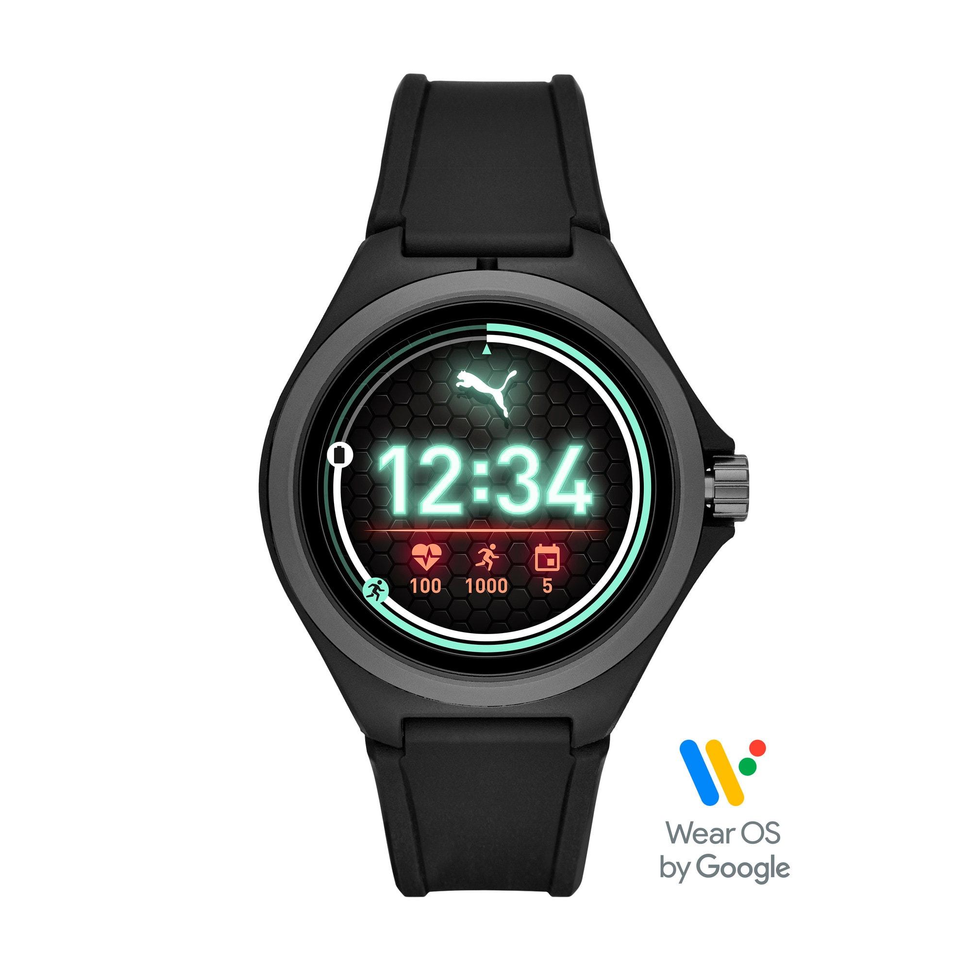 Thumbnail 1 of PUMA Smartwatch, Black/Gray, medium