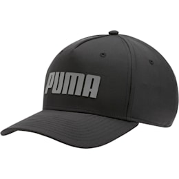 Go Time Flex Snapback Hat, Puma Black, small